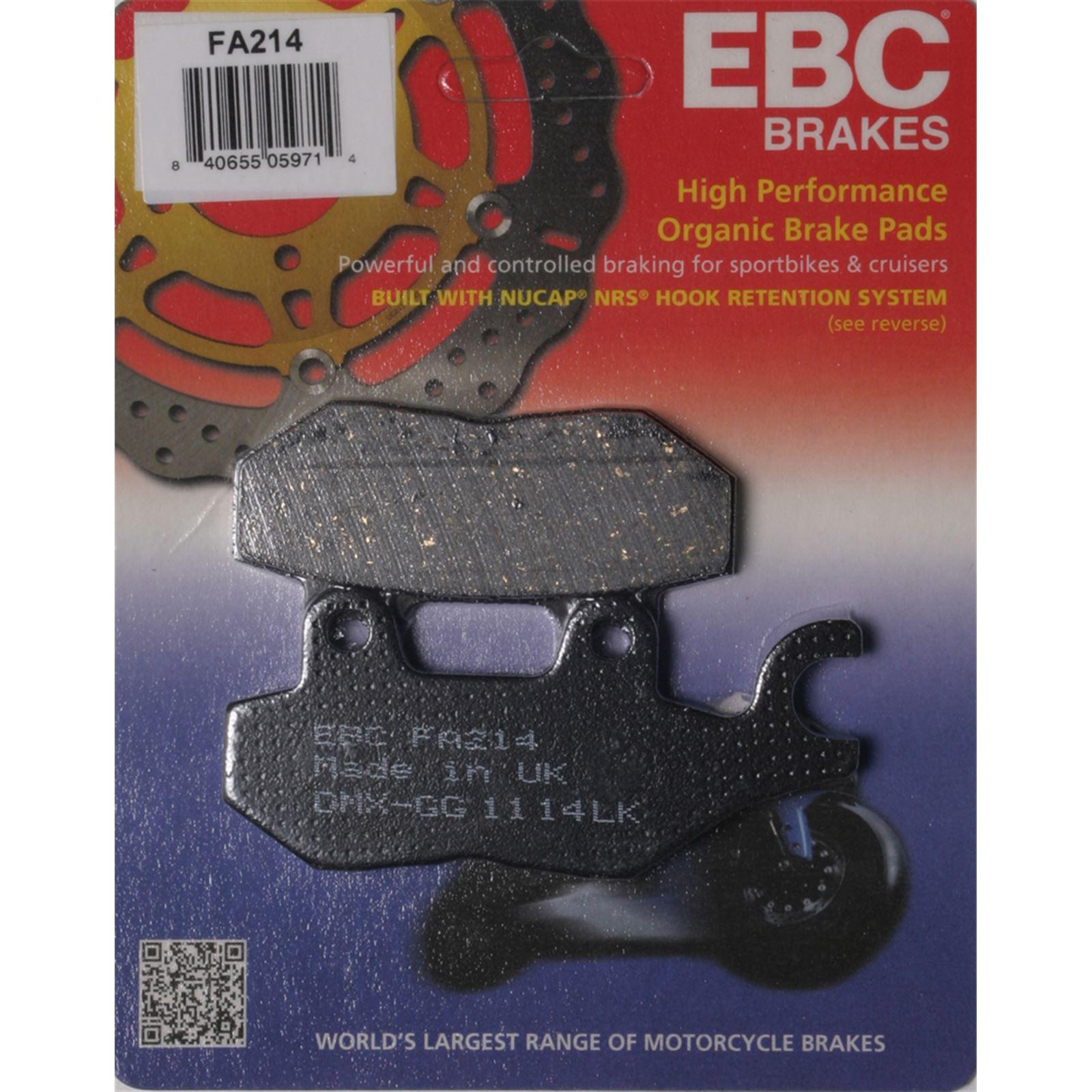 EBC Organic Brake Pads