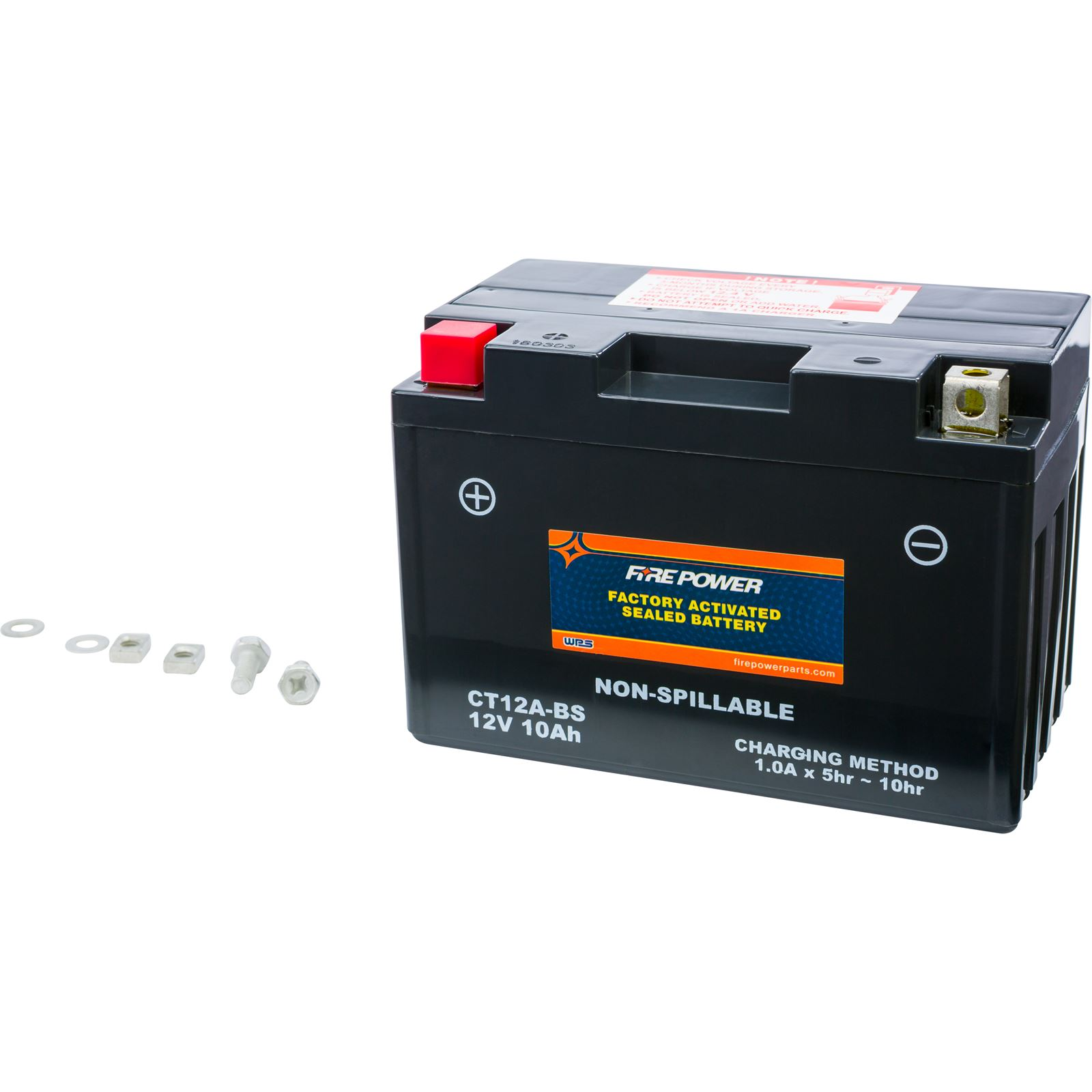 Fire Power Factory Activated Sealed Battery