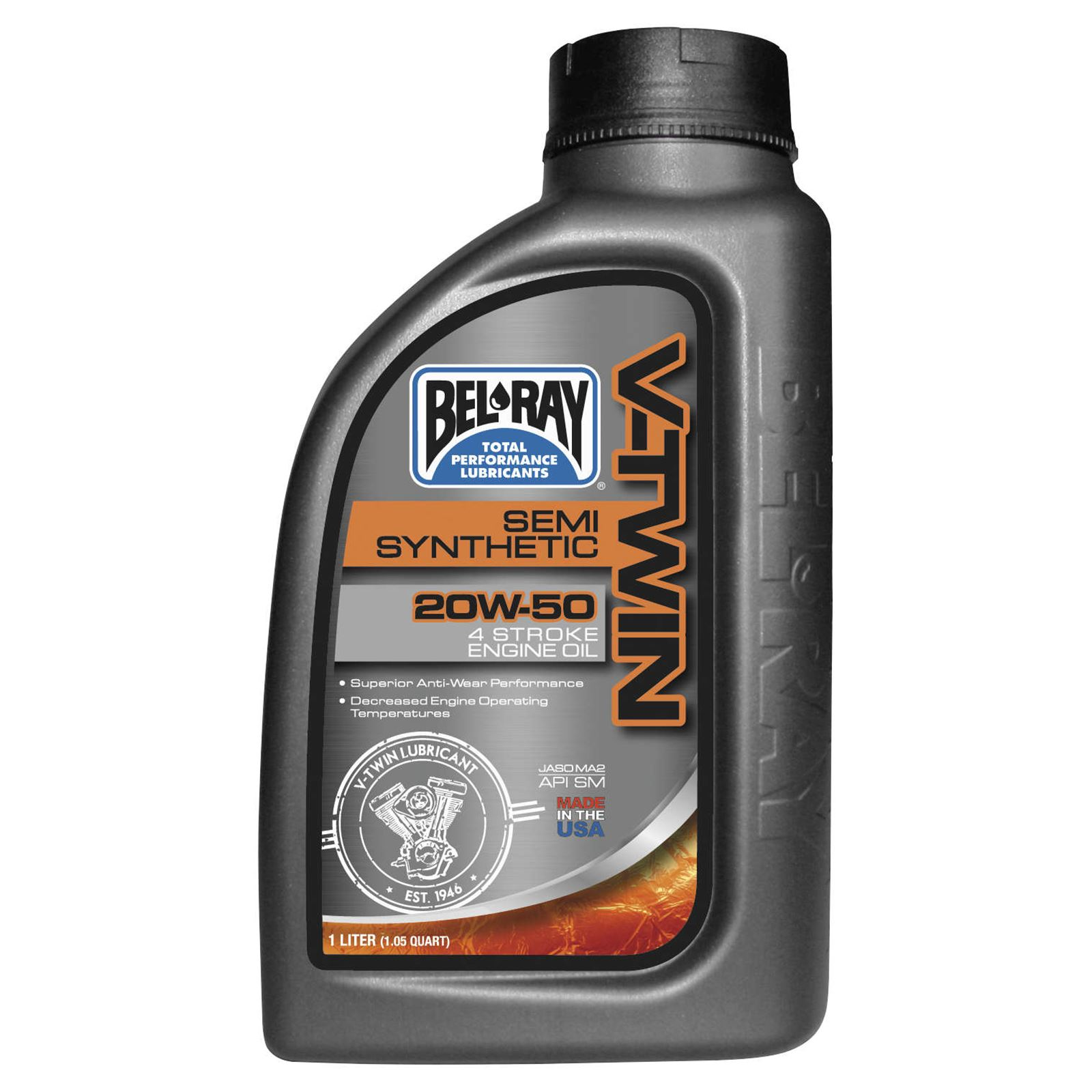 Bel-Ray V-Twin Semi-Synthetic Engine Oil