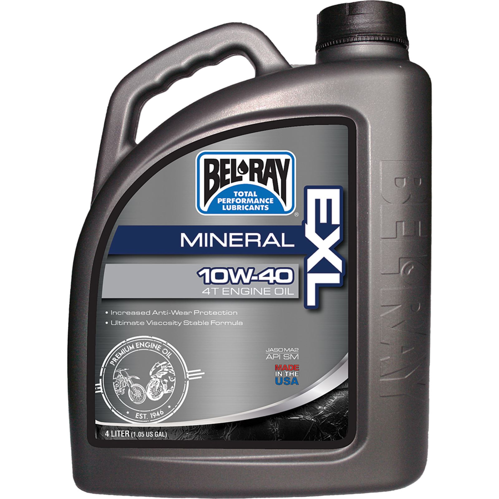Bel-Ray EXL Mineral 4T Engine Oil