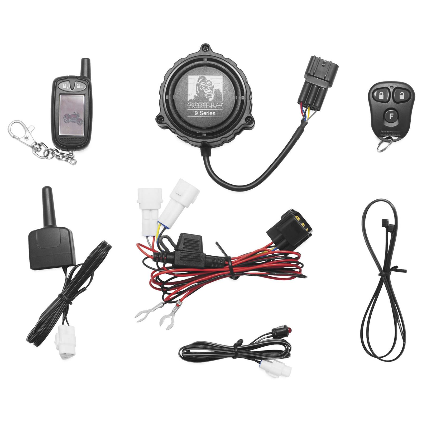 Gorilla 9100 Cycle Alarm w/2-Way Paging System