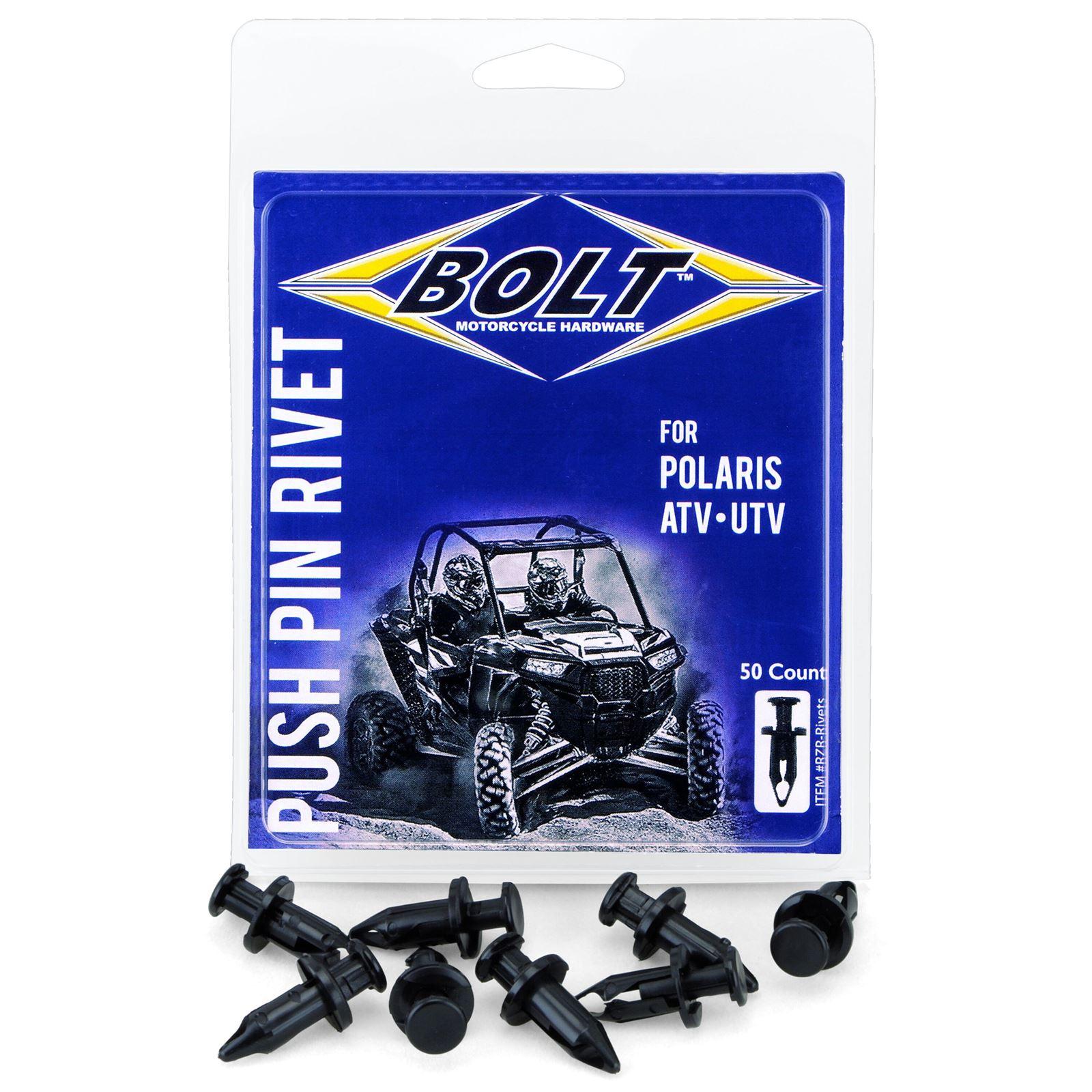 Bolt MC Hardware ATV Nylon Rivet Kits