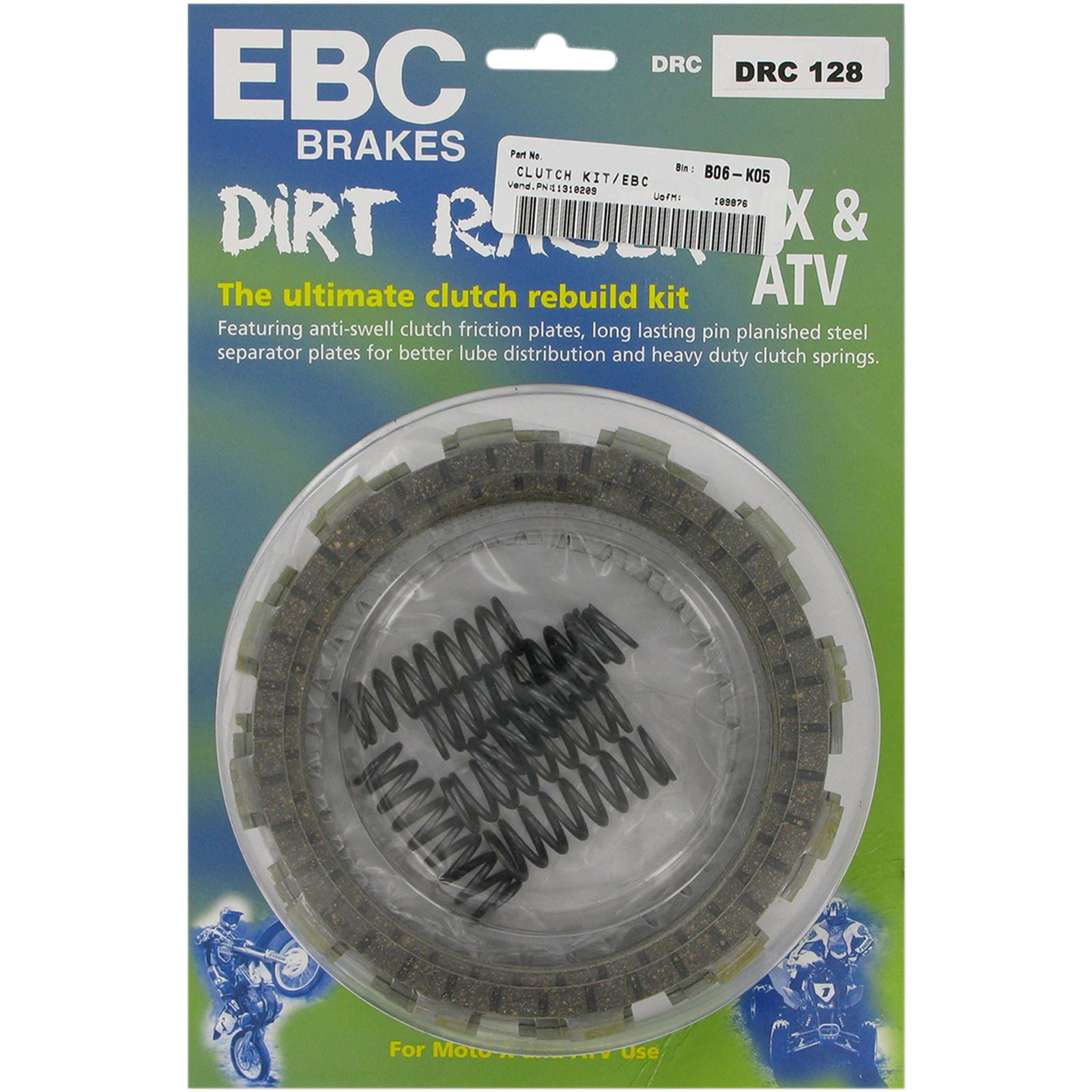EBC Dirt Racer Clutch Set