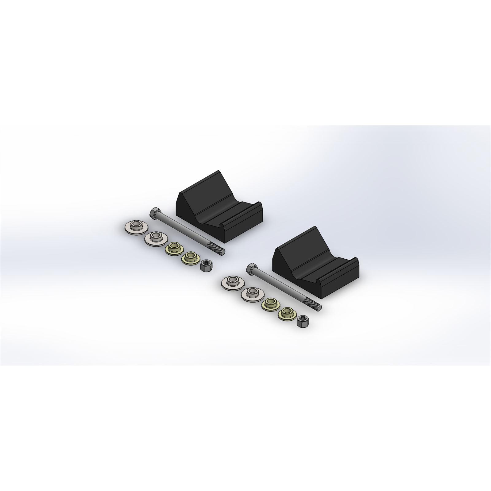 Slydog Powderhound Ski Hardware Kit