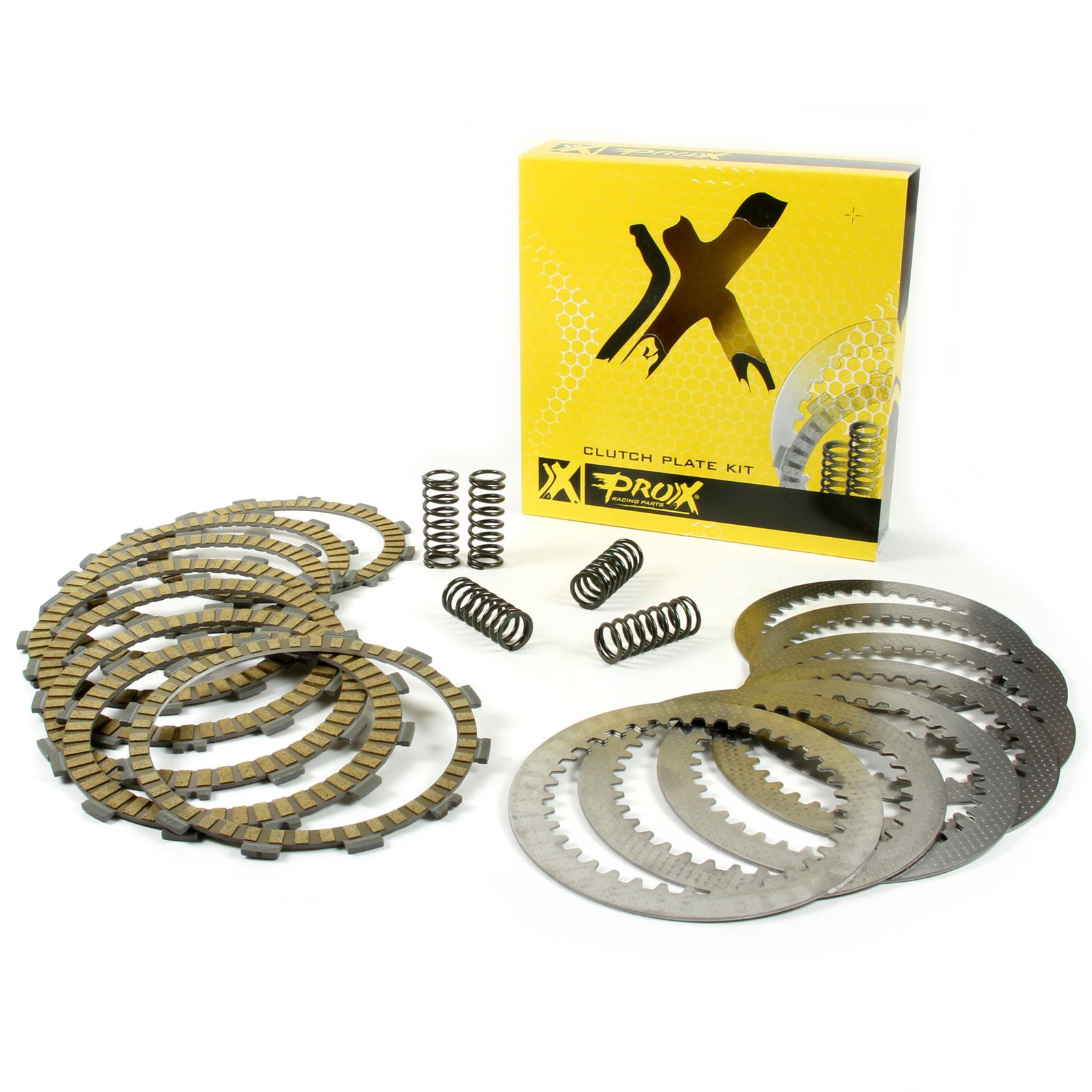 Prox Pro X Complete Clutch Plate Set W/Springs