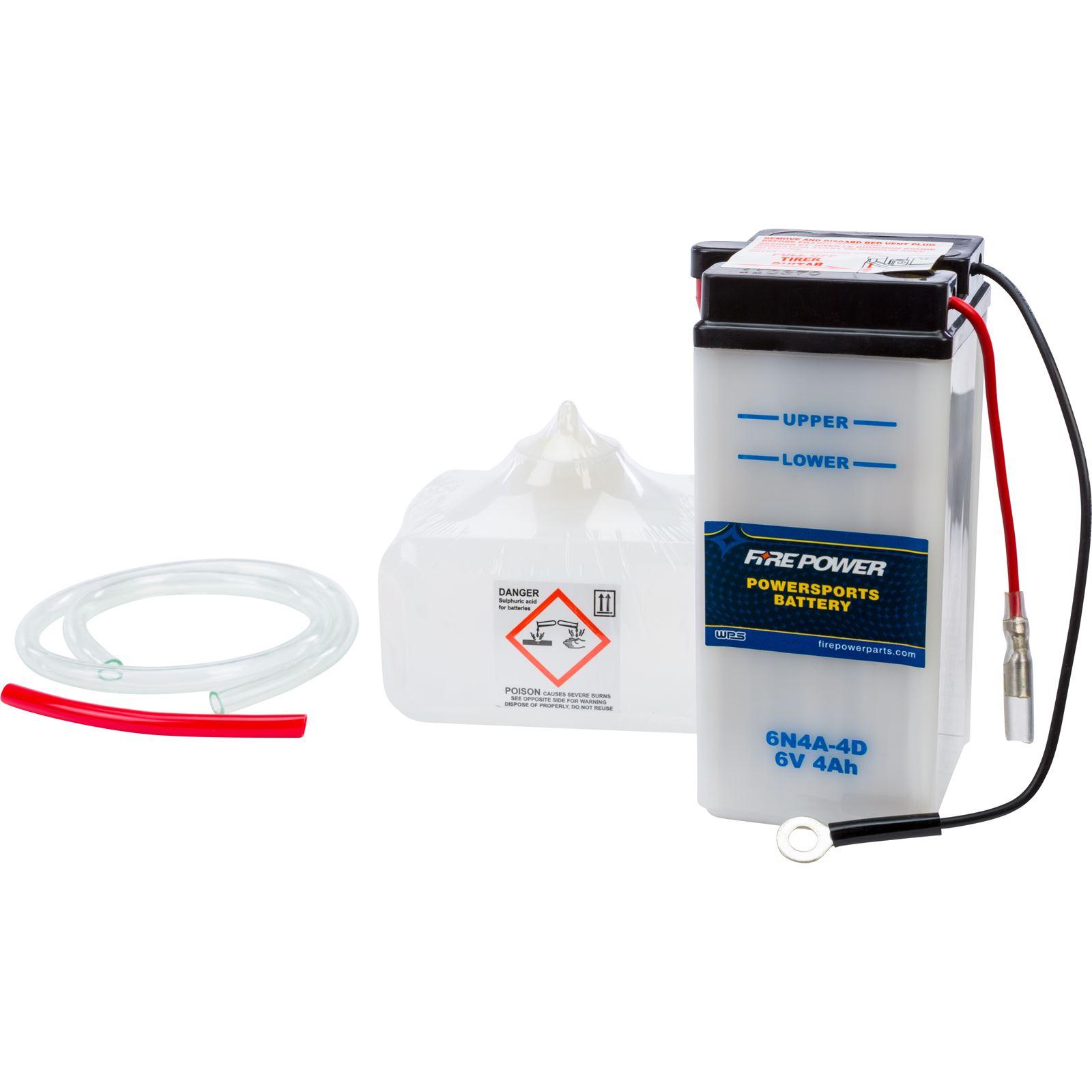Fire Power 6V Standard Battery w/Acid Pack