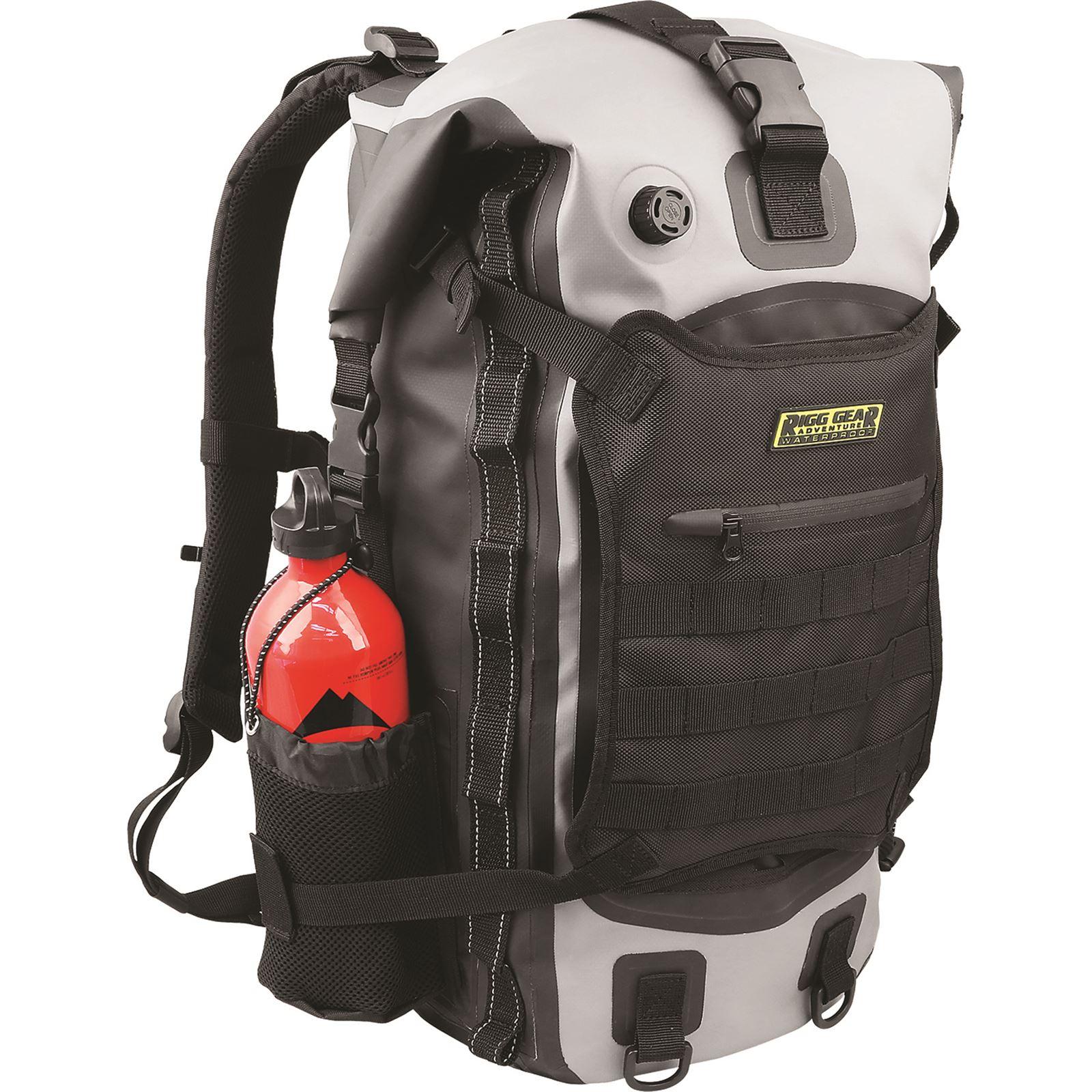 Nelson-Rigg Hurricane Waterproof Backpack / Tailpack