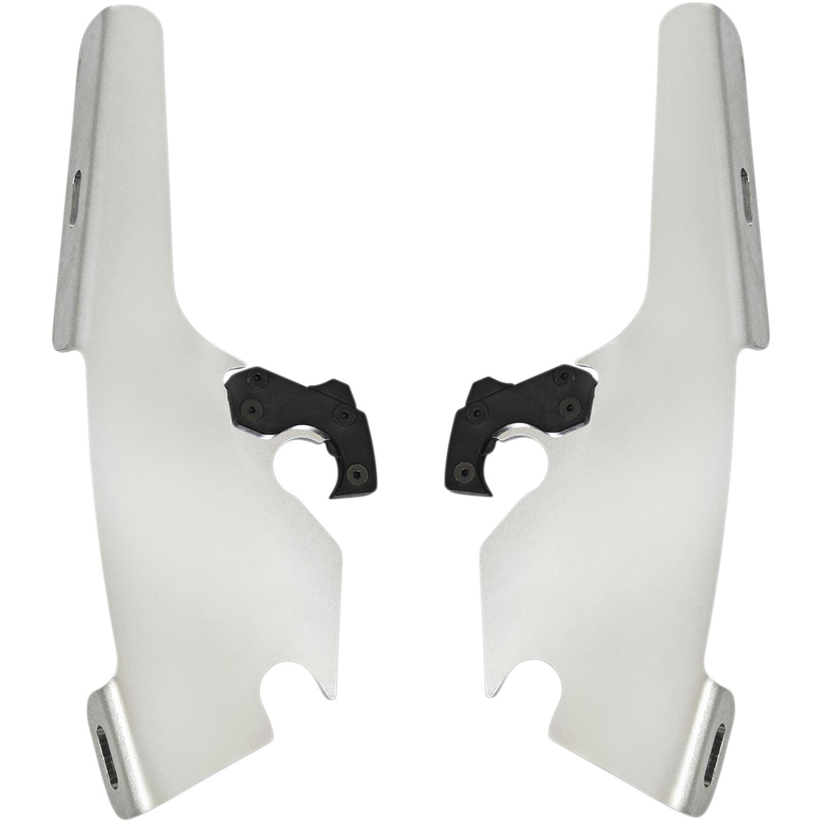 Memphis Shades Fats/Slim Trigger Lock Plate Kit - Polished - FLSB