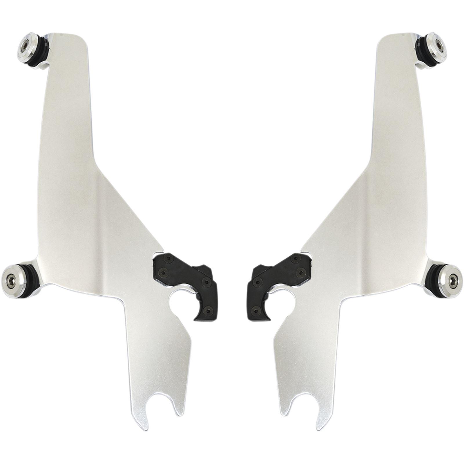 Memphis Shades Sportshield Trigger Lock Plate Kit - Polished - FLSB
