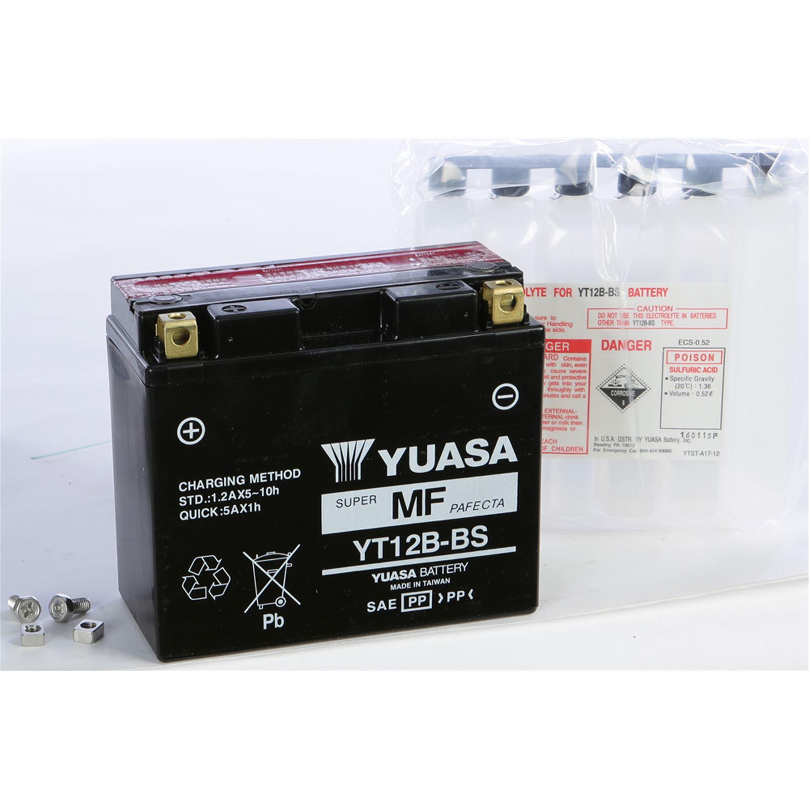 Yuasa AGM Maintenance Free Battery