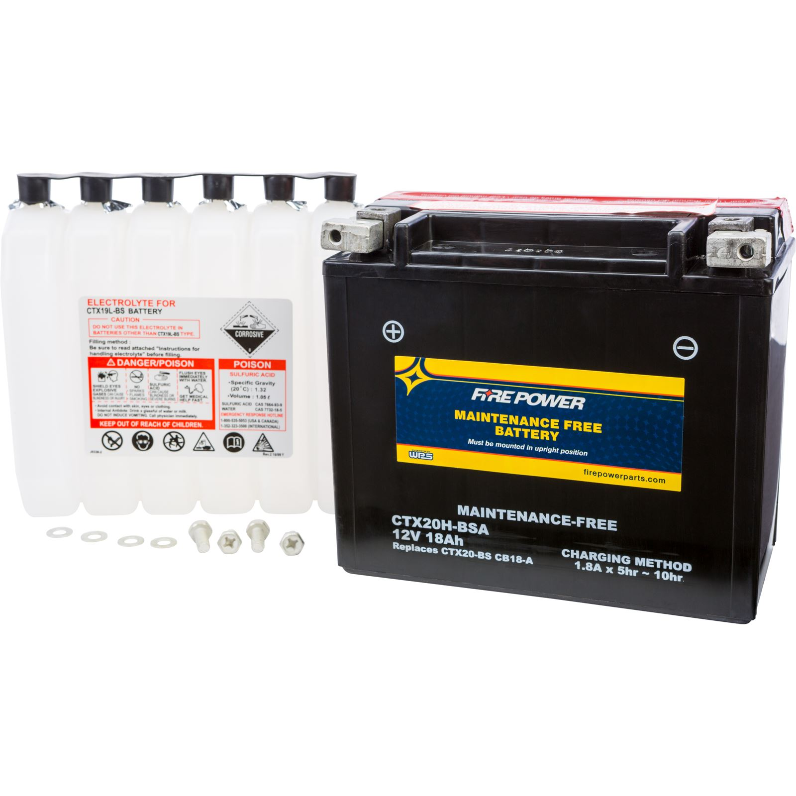 Fire Power Maintenance Free Sealed Battery