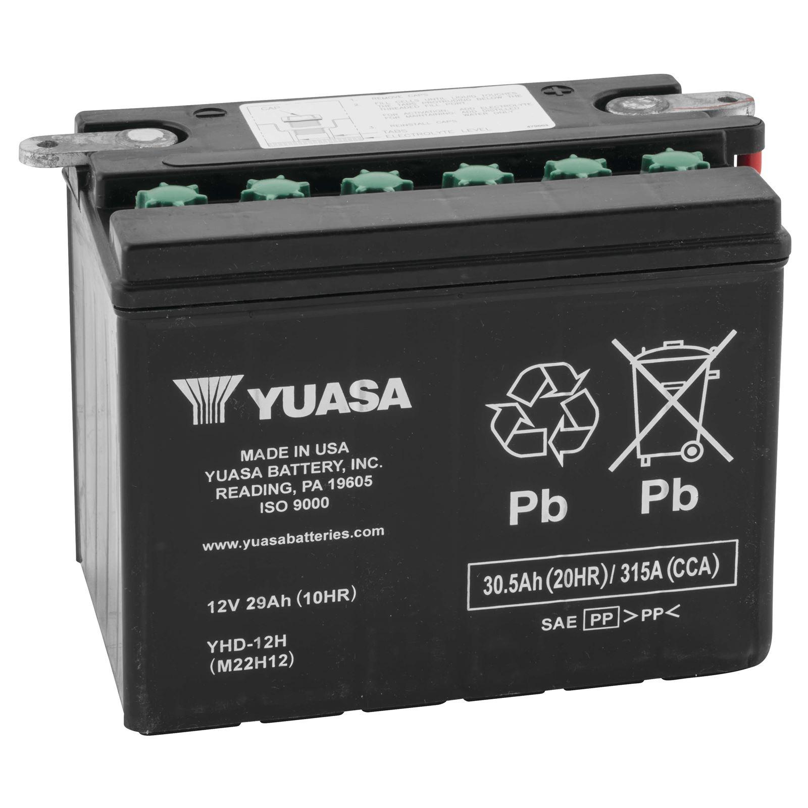 Yuasa 6V and 12V Standard Yumicron Battery