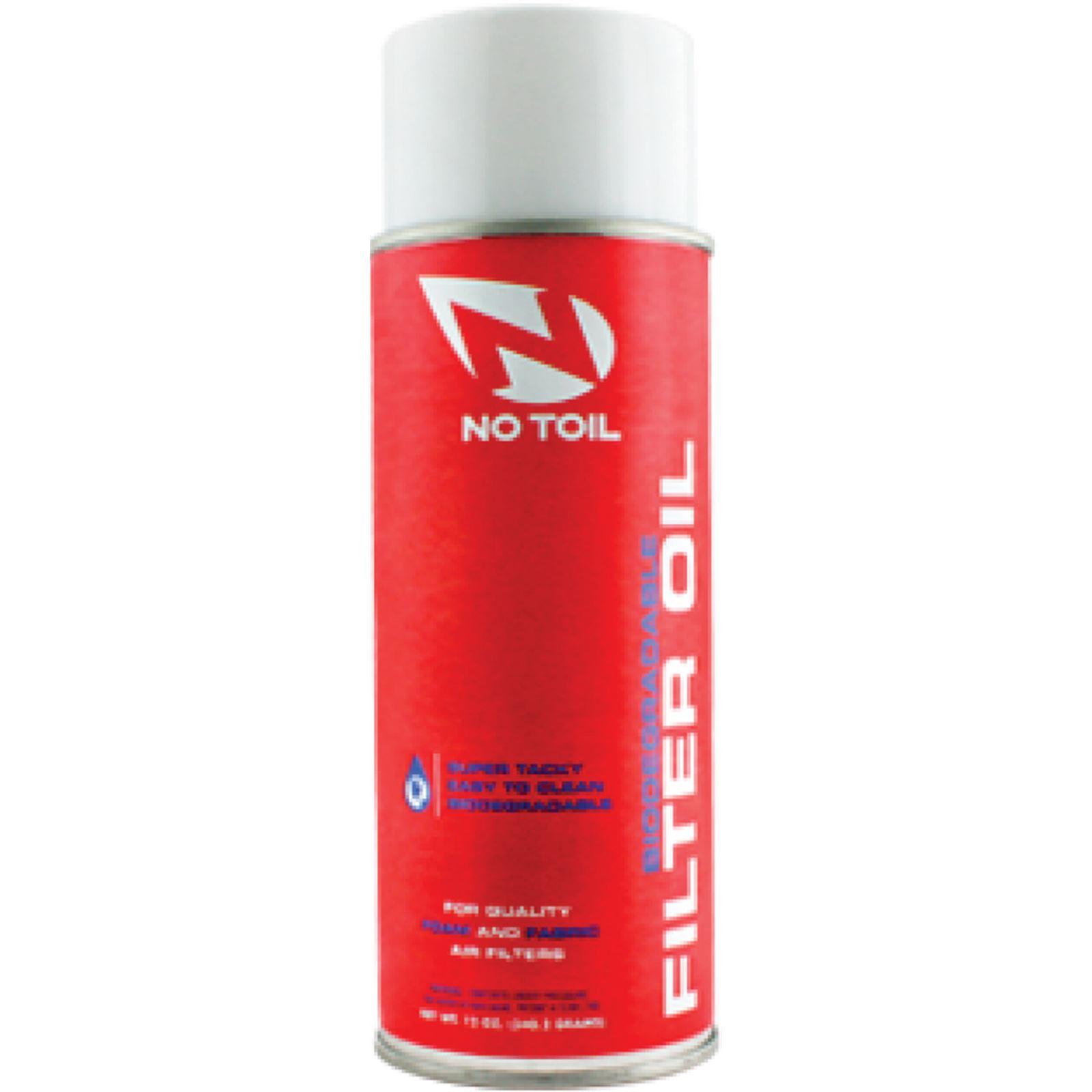 No Toil Air Filter Oil