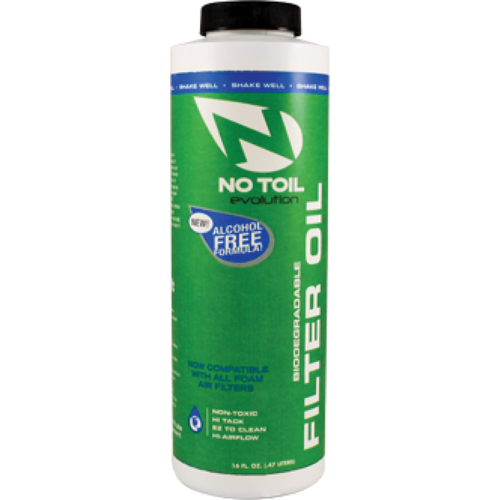 No Toil Evol Filter Oil 16Oz