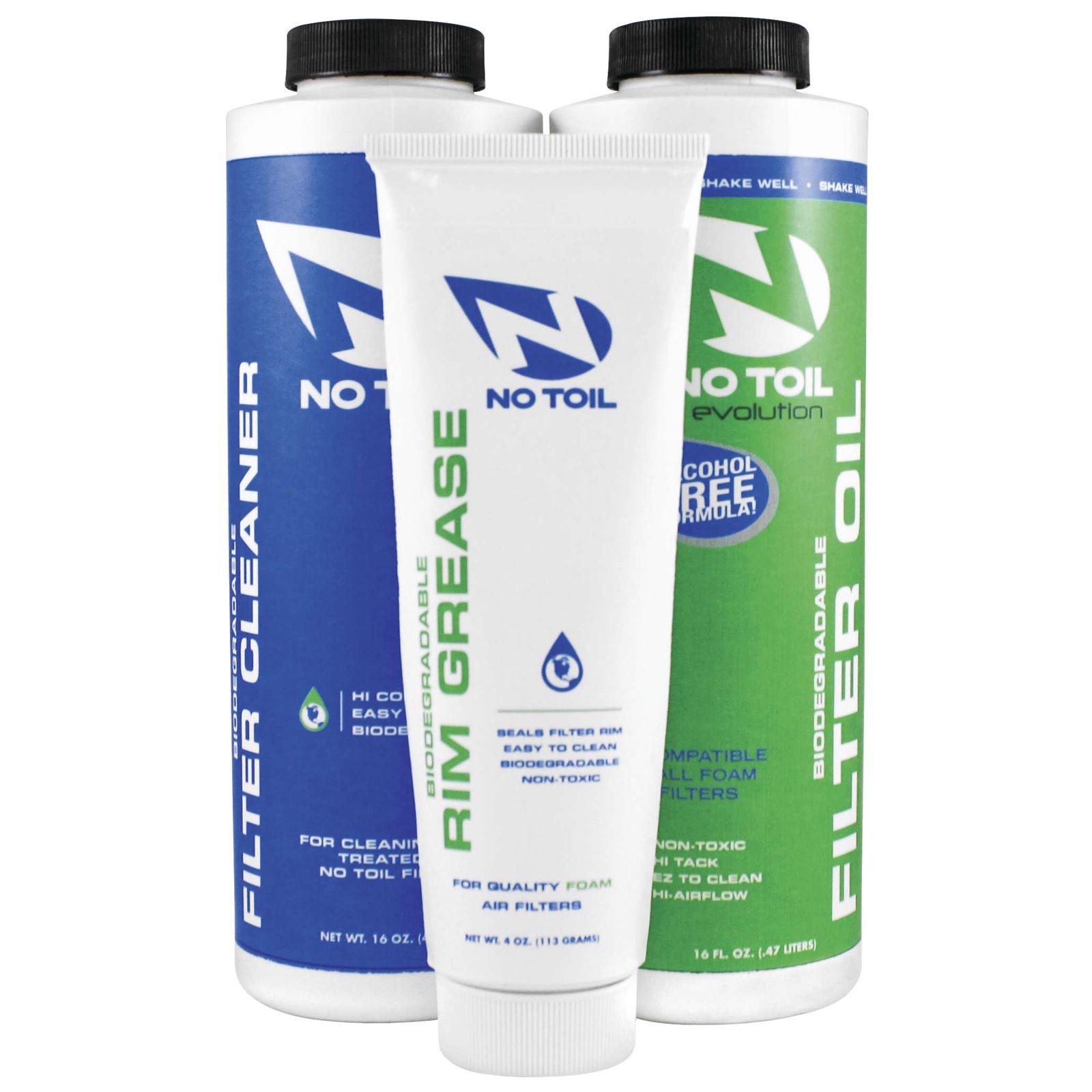 No Toil Evolution Air Filter Oil