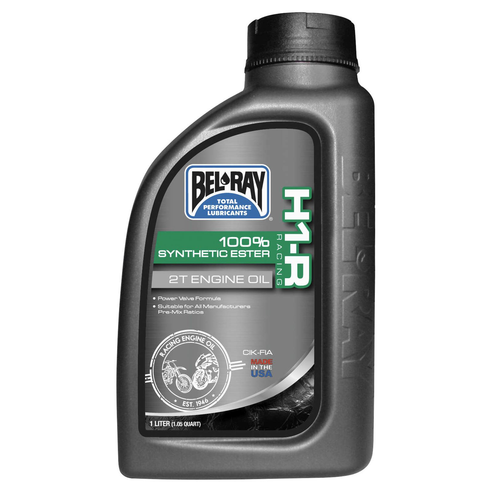 Bel-Ray H1-R Racing 100% Synthetic Ester 2T Engine Oil