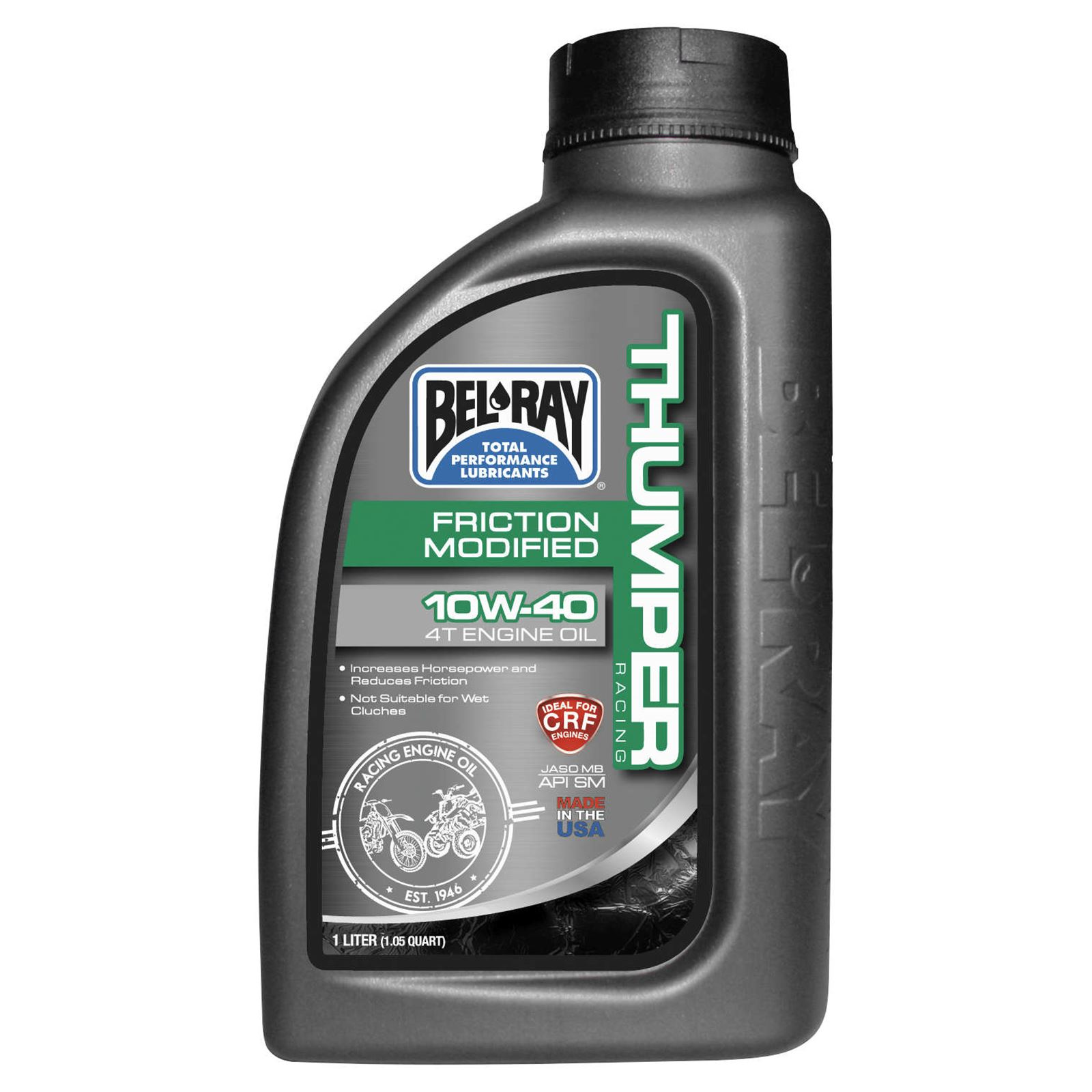 Bel-Ray Friction Modified Thumper Racing 4T Engine Oil