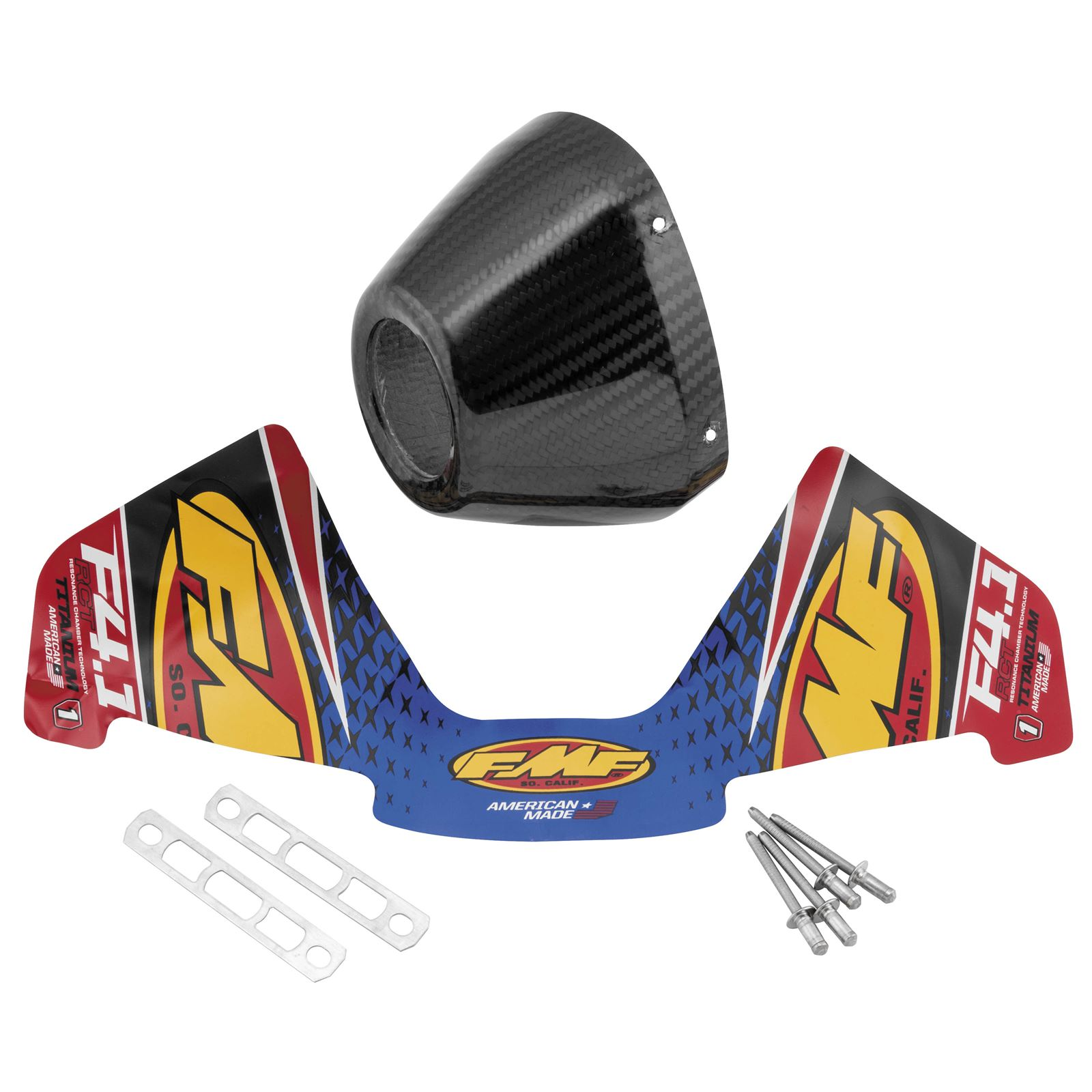 FMF Racing Factory 4.1 End Caps