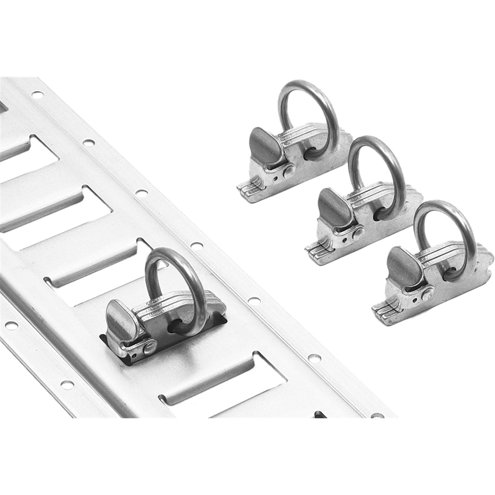 Powertye E-Track Clips w/O-Ring