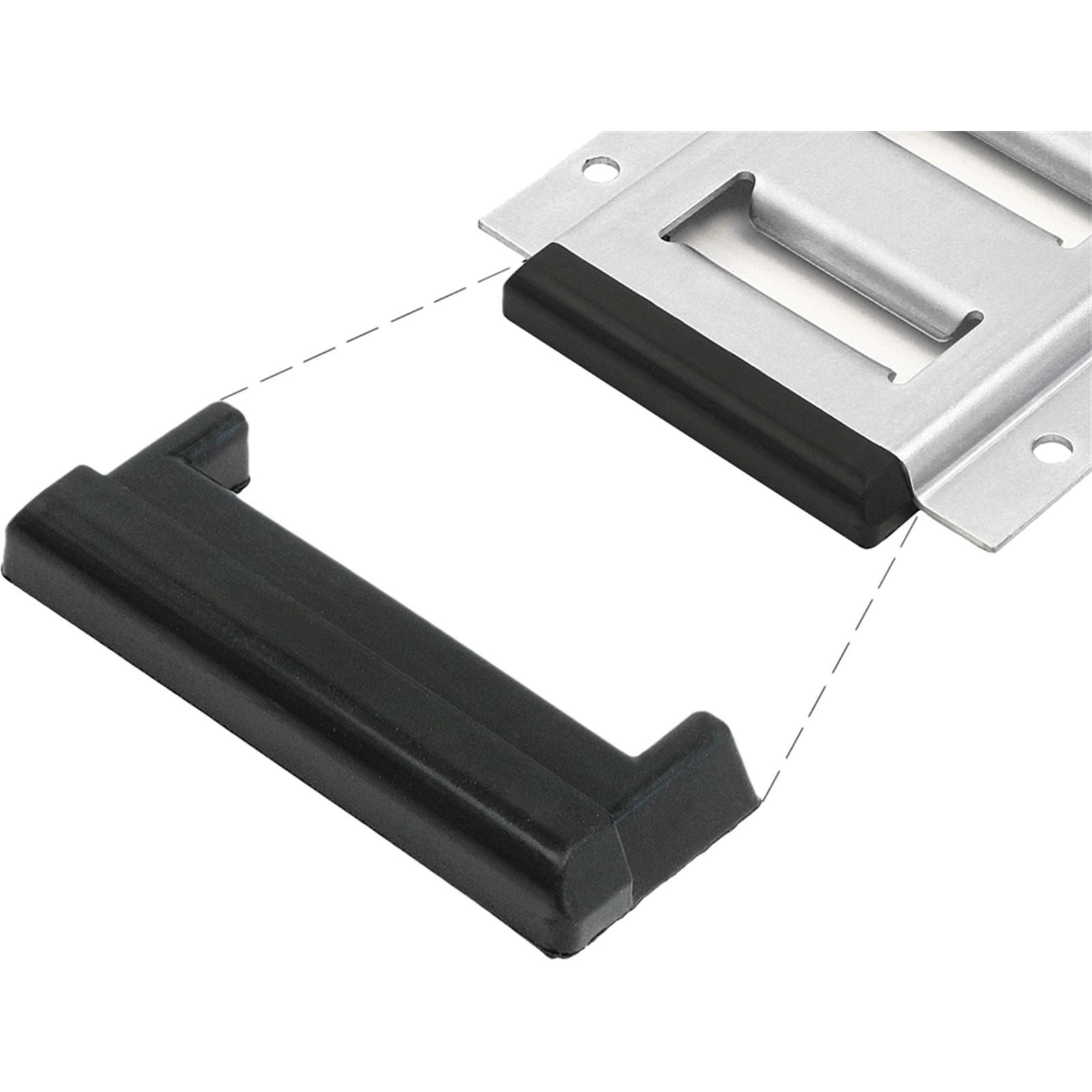 Powertye E-Track Rubber End Caps