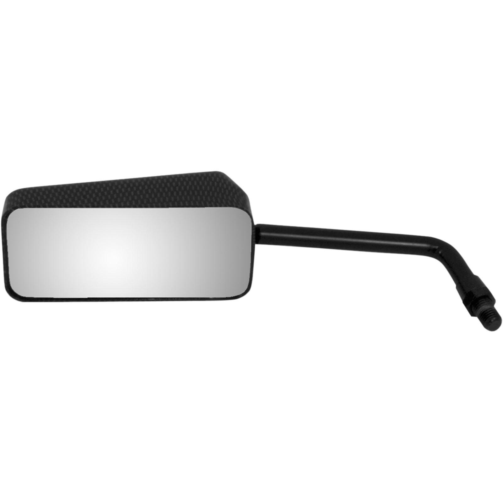 Emgo Mirror - Euro - Carbon Fiber