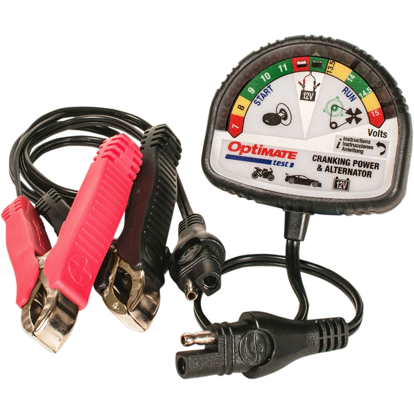 Tecmate Optimate® Battery Cranking & Charging System Tester