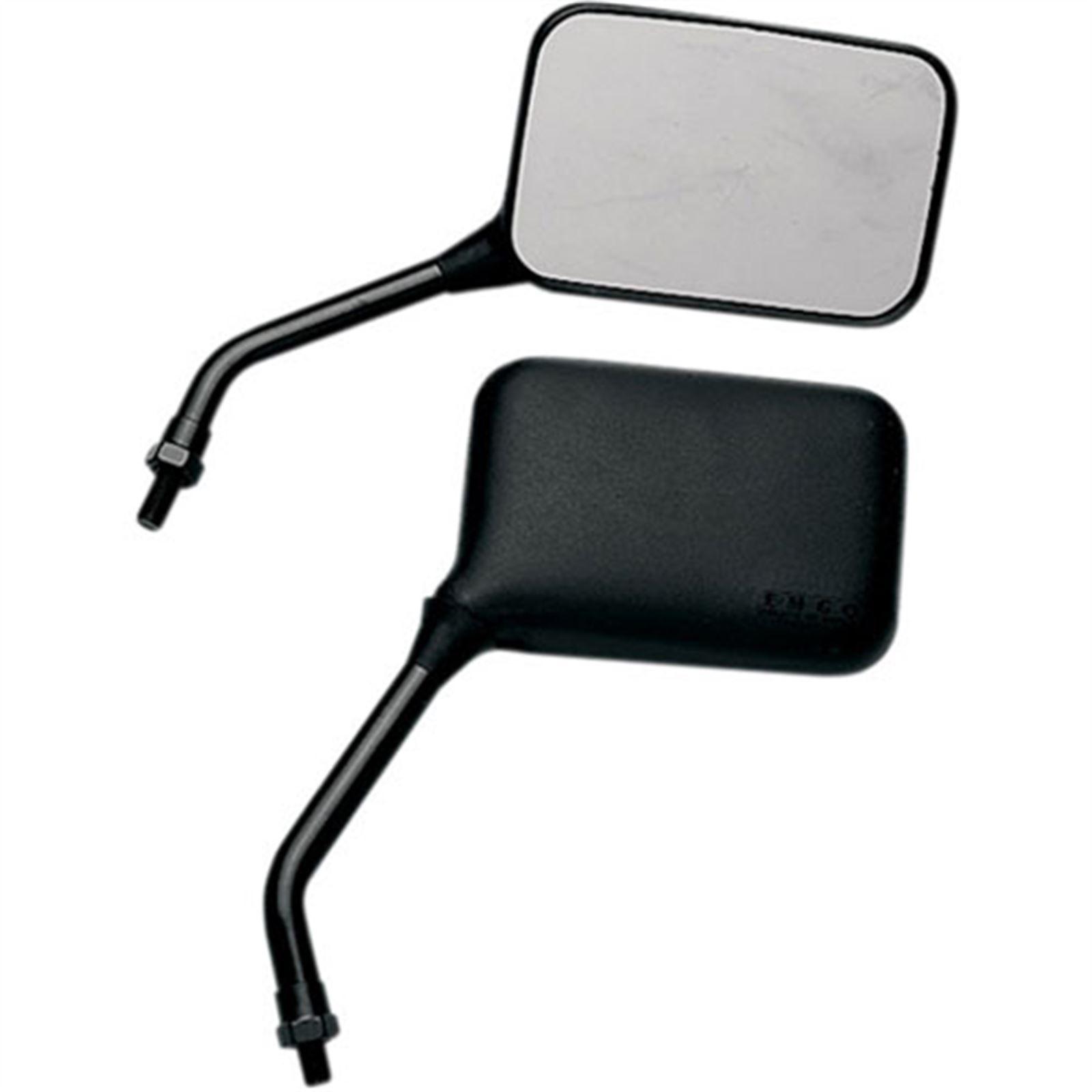 Emgo Universal GP Mirror - Short Stem - Left
