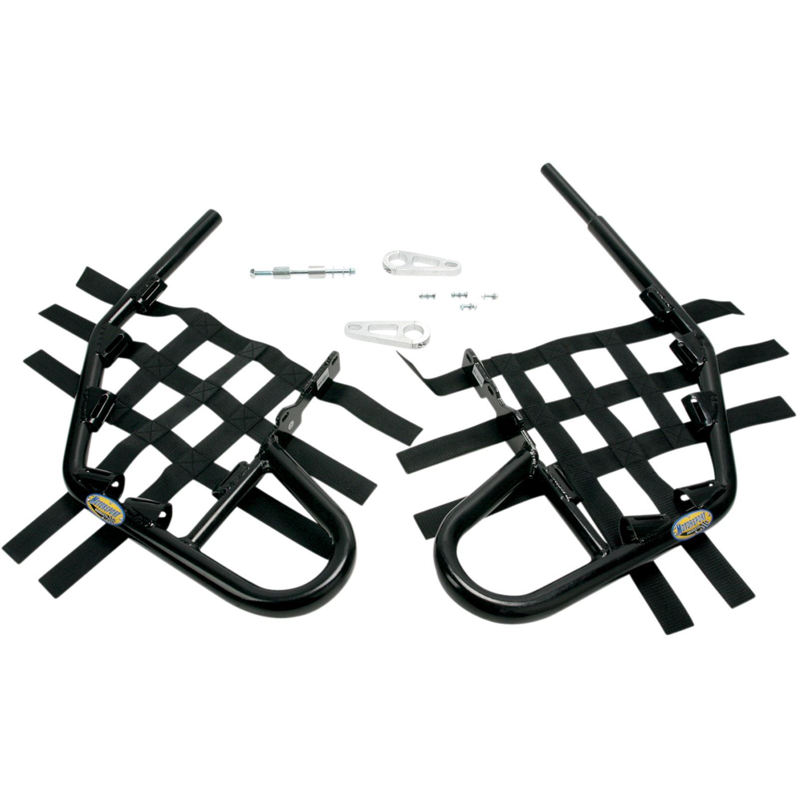 Motorsport Products Nerf Bars - Raptor 350 - Black