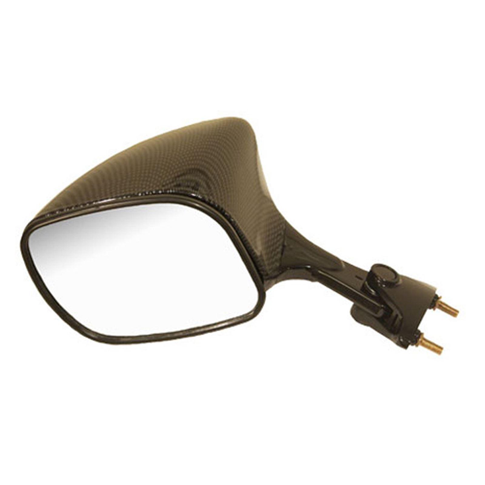 Emgo Mirror - Left - Carbon Fiber