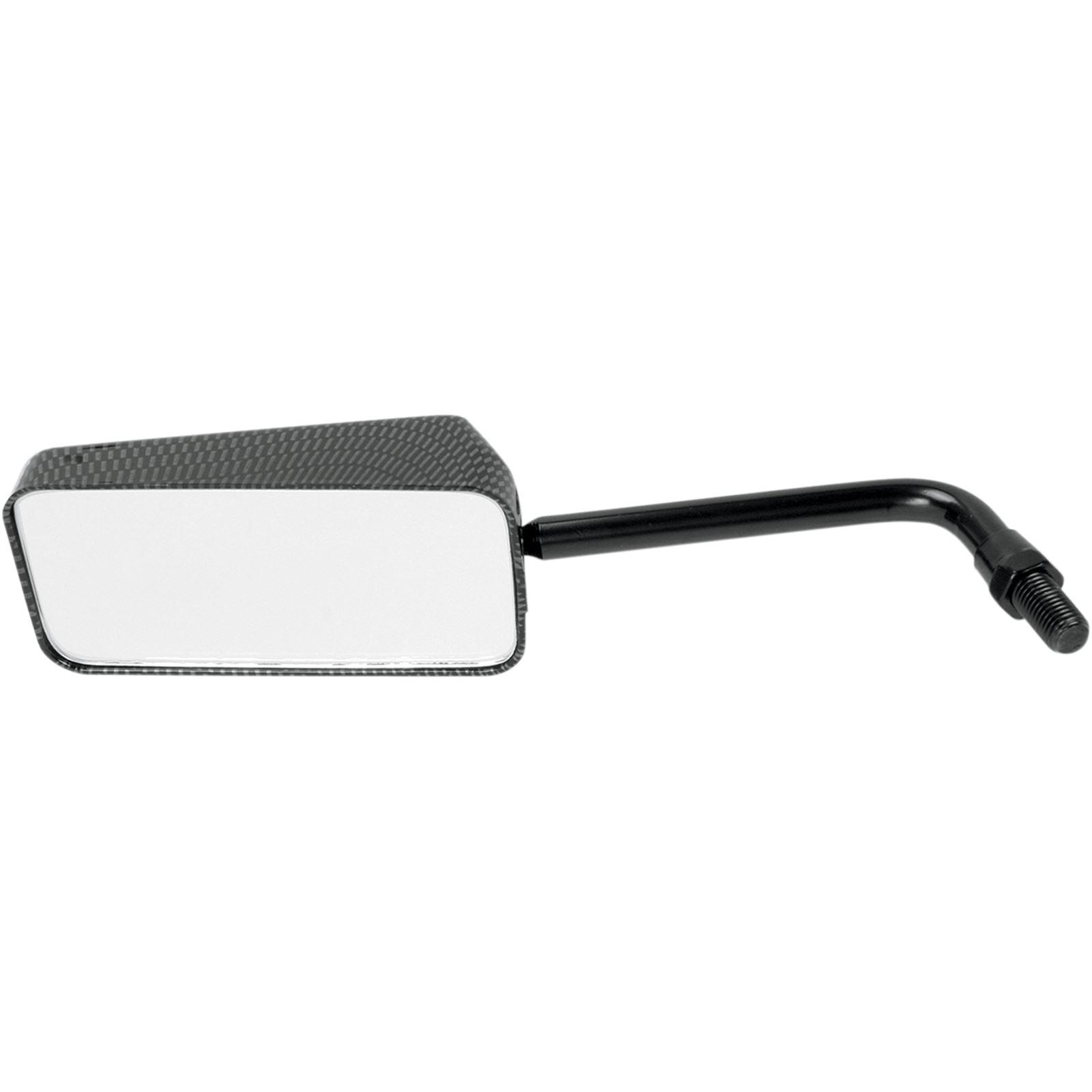 Emgo Mirror - Euro - Carbon Fiber - 10 mm