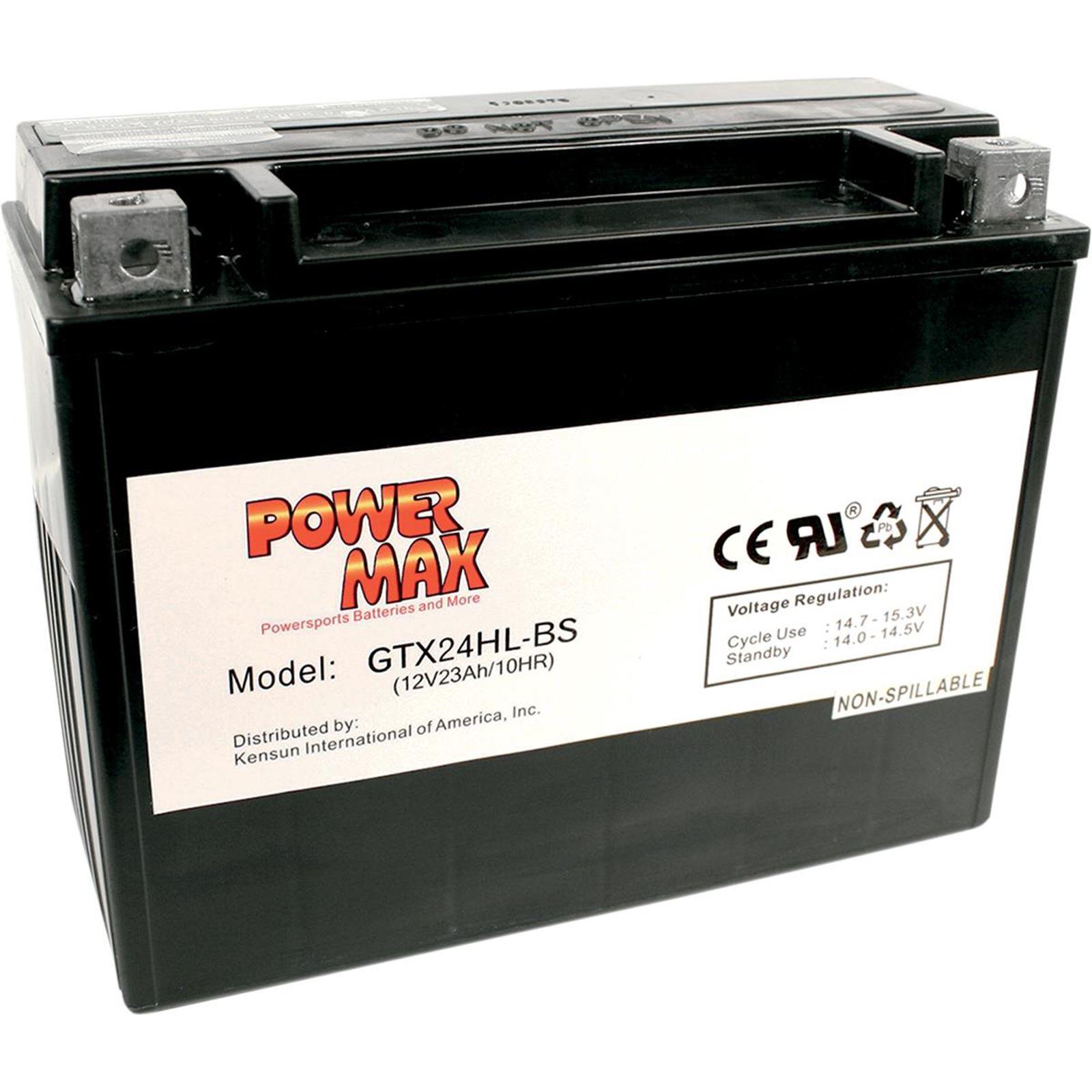 Power Max Battery - GTX24HL-BS
