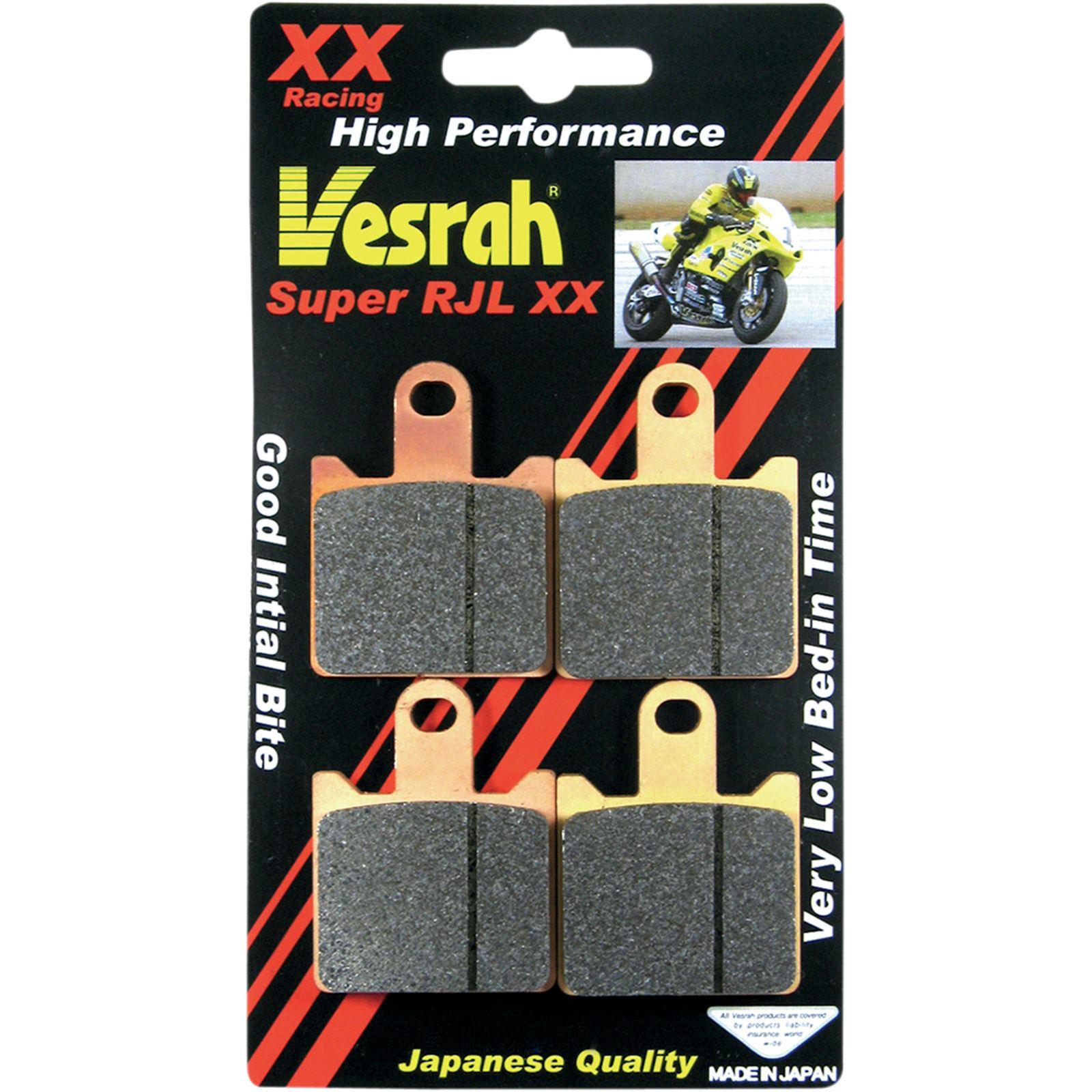 Vesrah JL Sintered Metal Brake Pads - VD-444RJL-XX