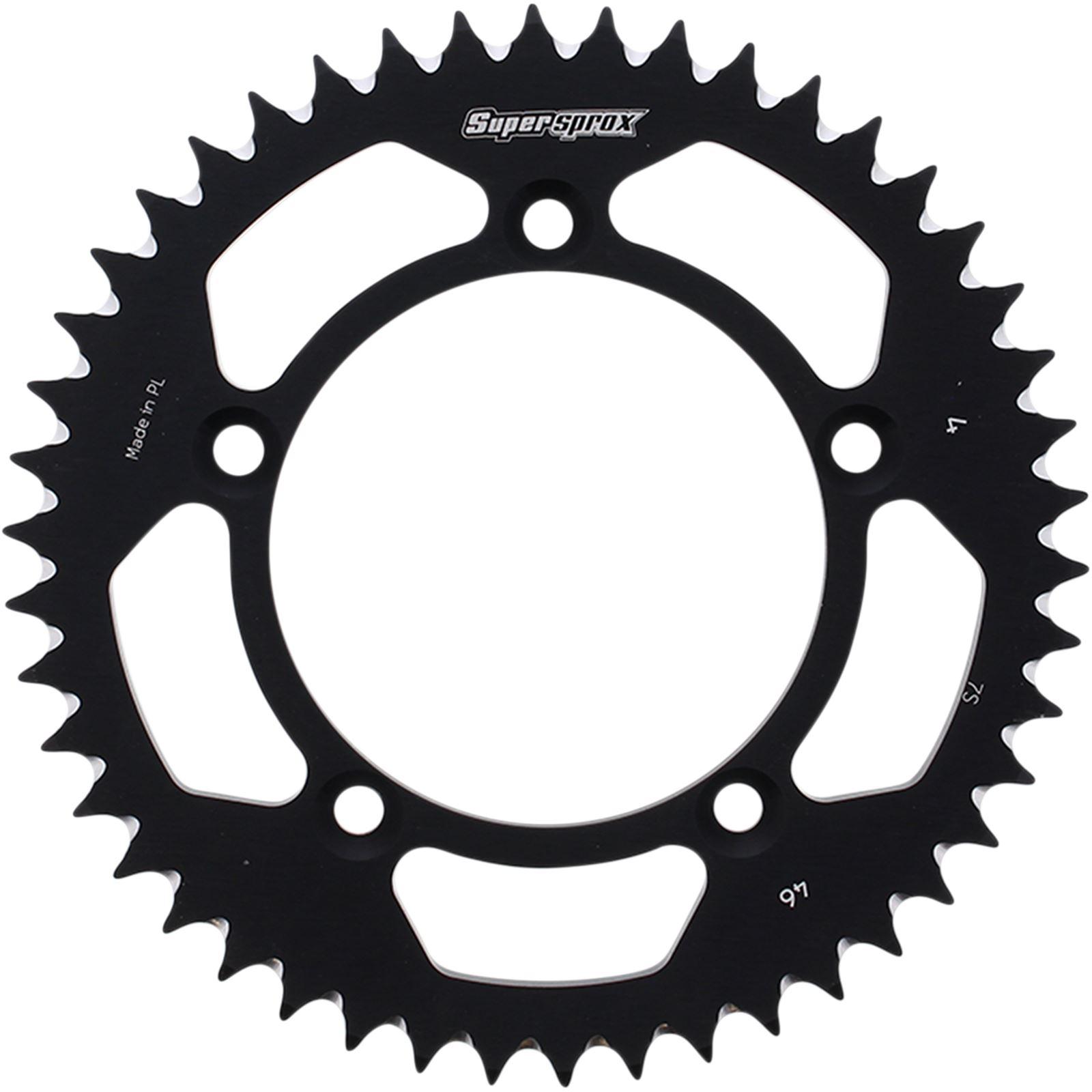 Supersprox Rear Sprocket - Black for Husqvarna/KTM - 46-Tooth