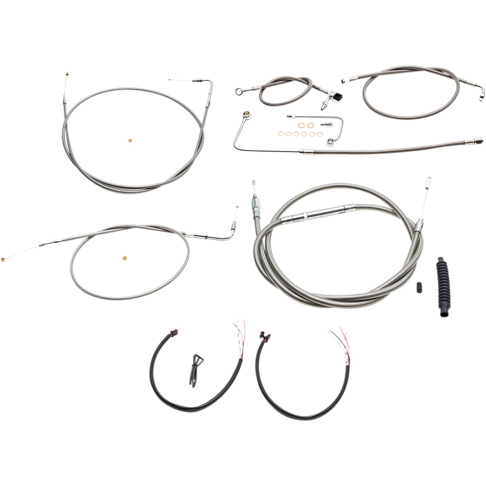LA Choppers Mini Cable Kit for '15 Softail