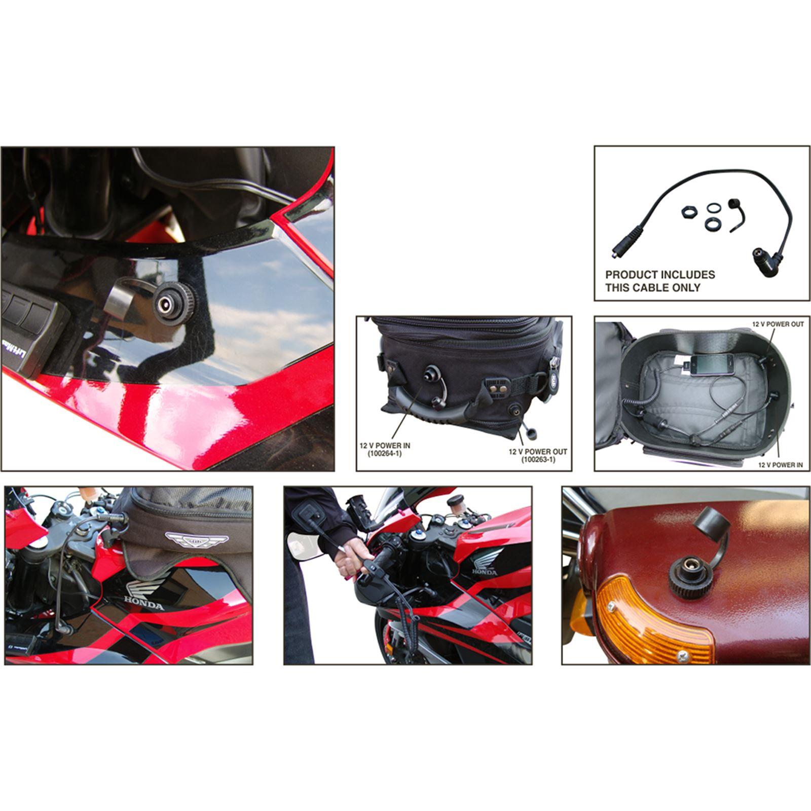 Gears Female Cox Panel Mount Cord