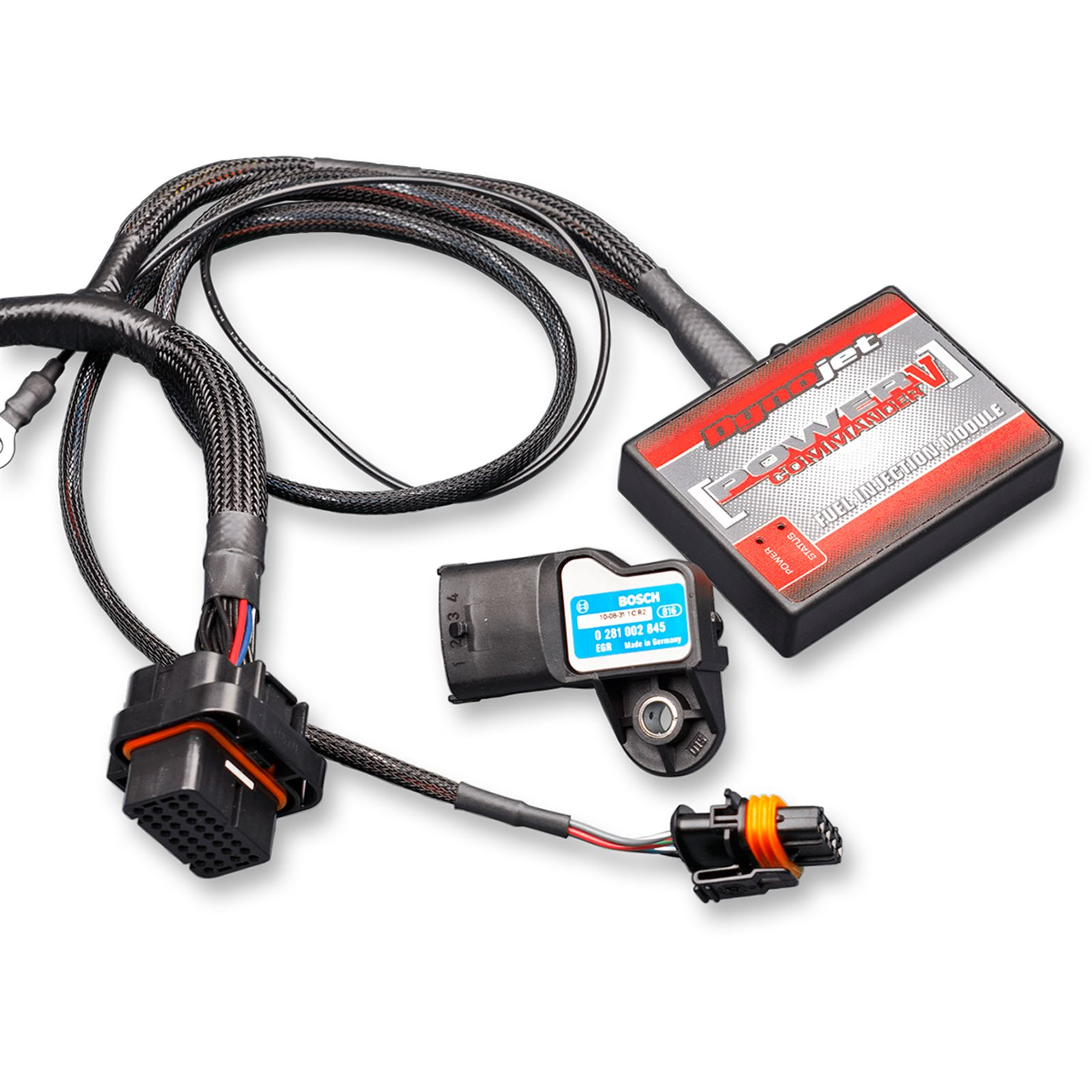 Dynojet Power Commander-V Polaris Pressure Temperature Input with Ignition Adjustment Axys800
