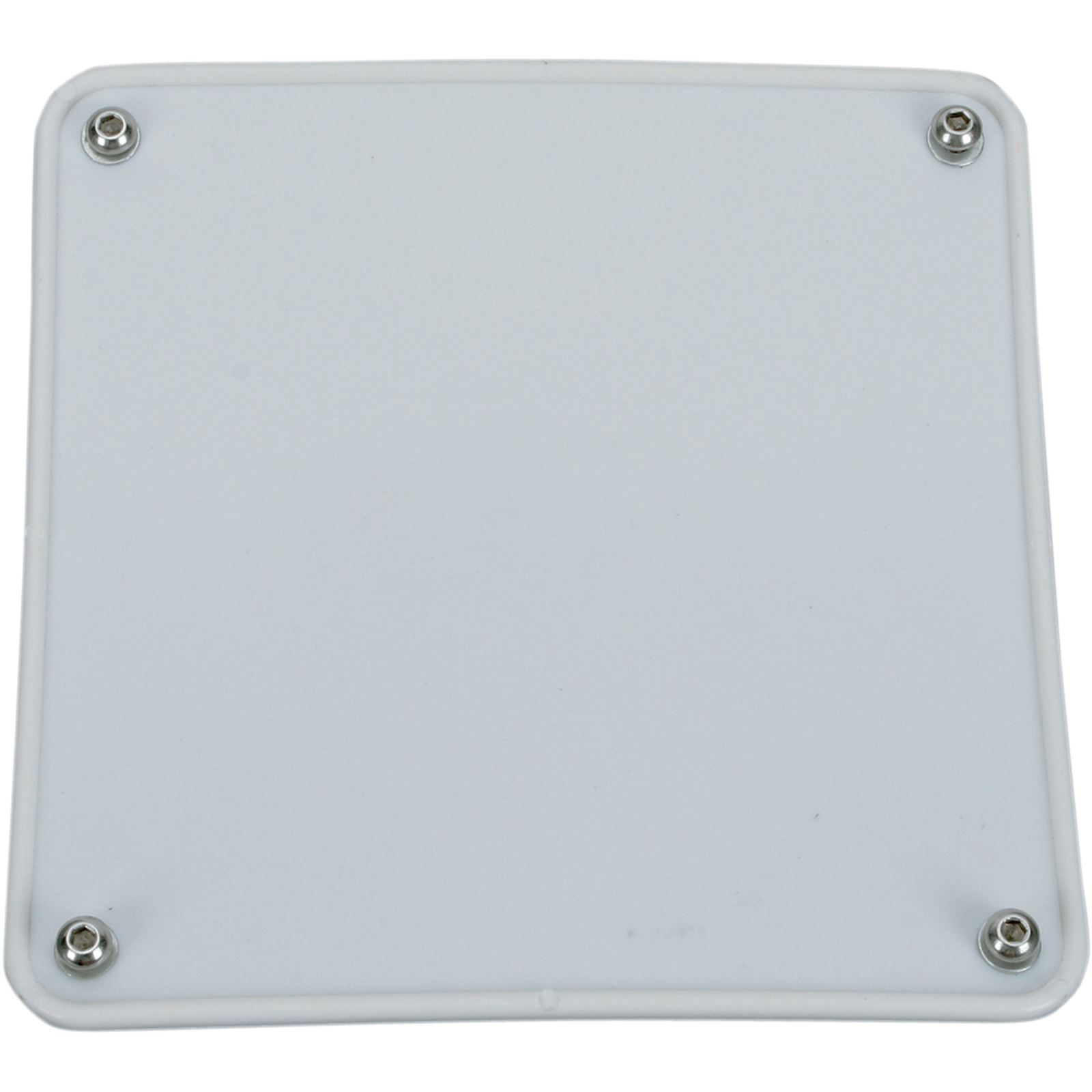 Motorsport Products Bumper Number Plate - White