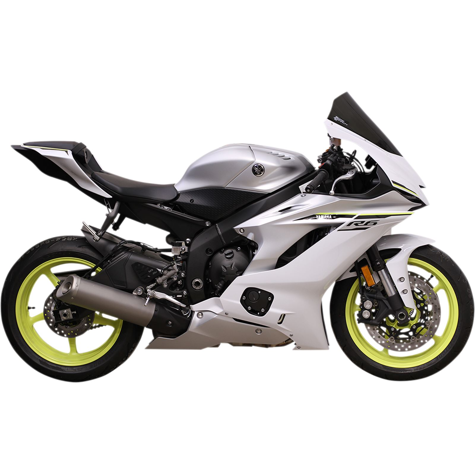 Zero Gravity Windshields Sport Winsdscreen - Light Smoke - YZF-R6