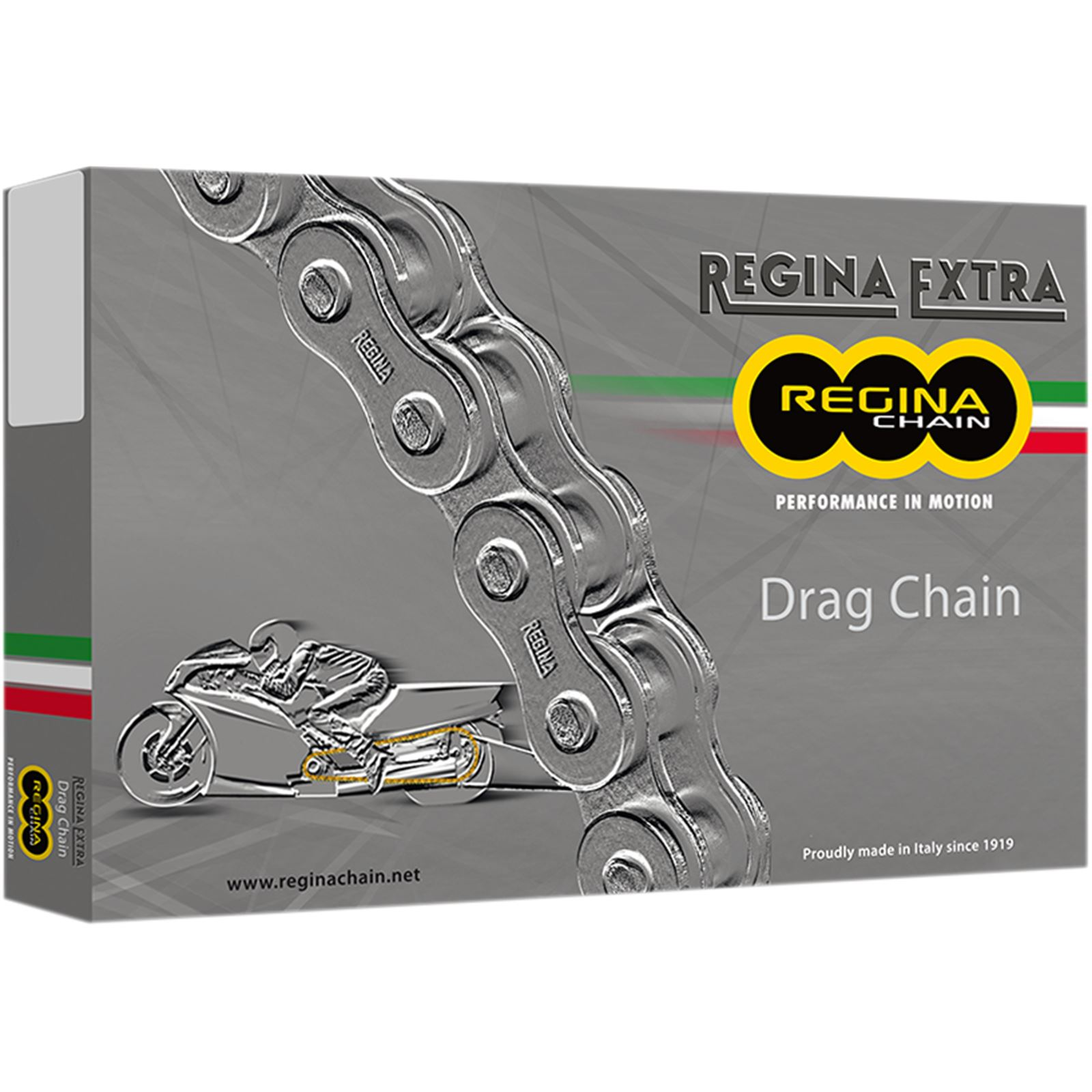 Regina 520 DR -Extra - Drag Racing Chain - 140 Links