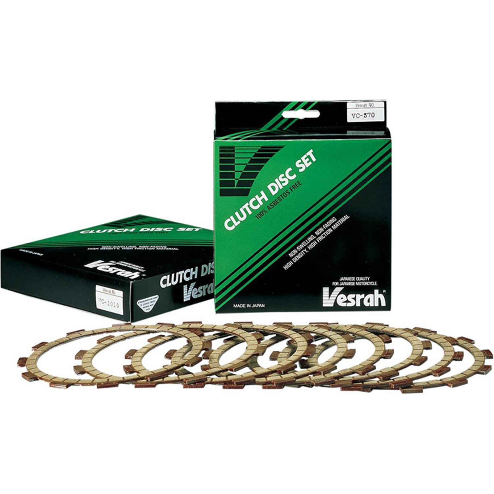 Vesrah Clutch Discs - Set of 7