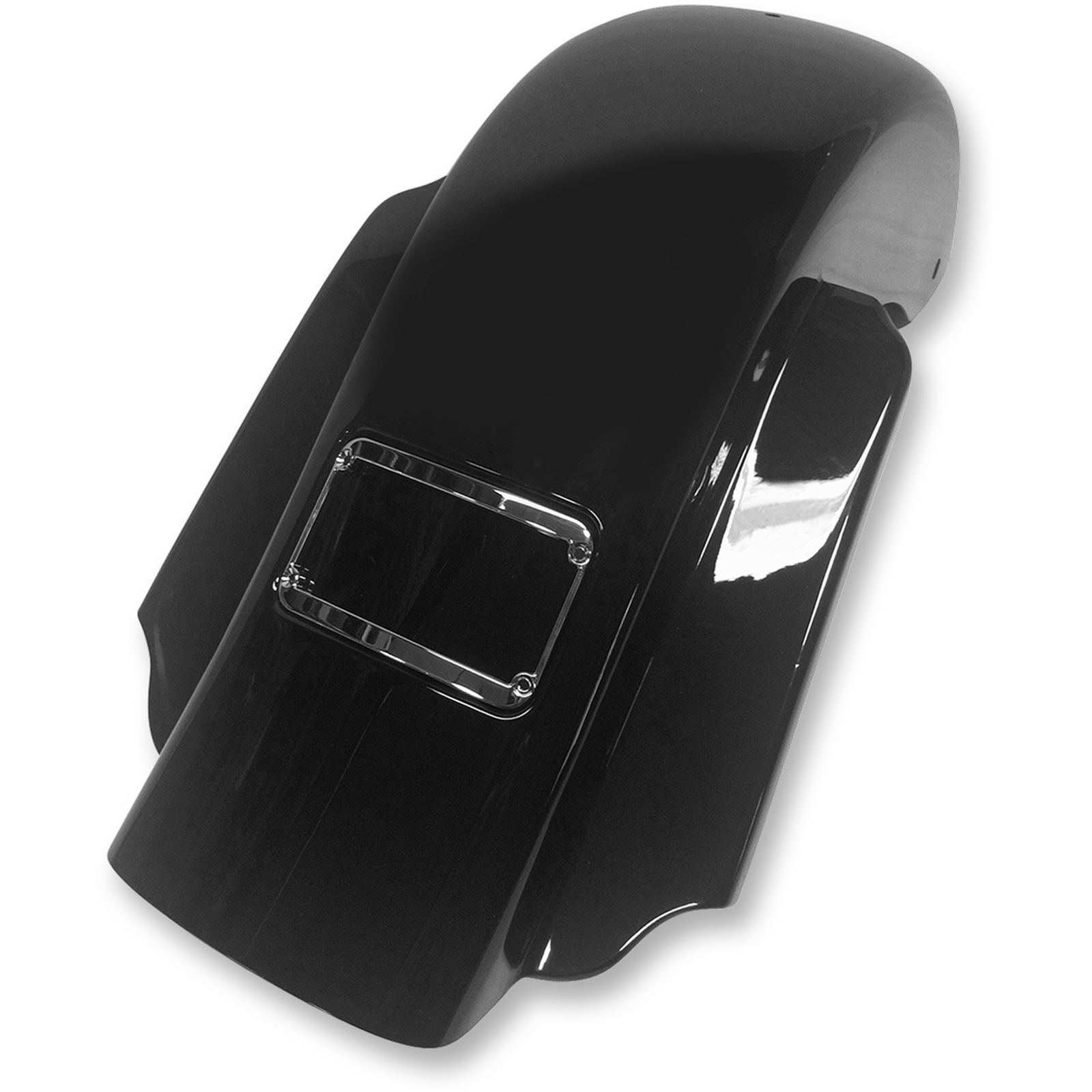 Klock Werks The One Rear Fender - Frenched - Black - Steel