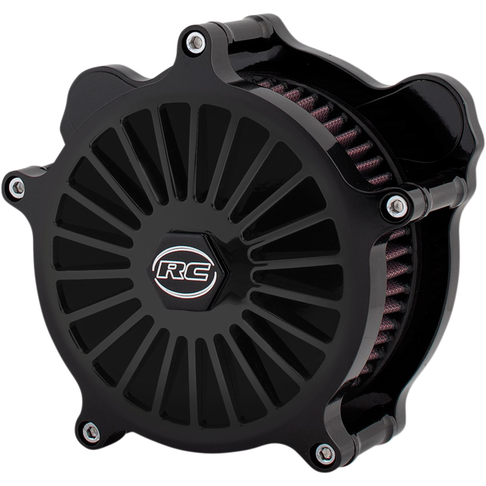 RC Components Air Cleaner Illusion Black