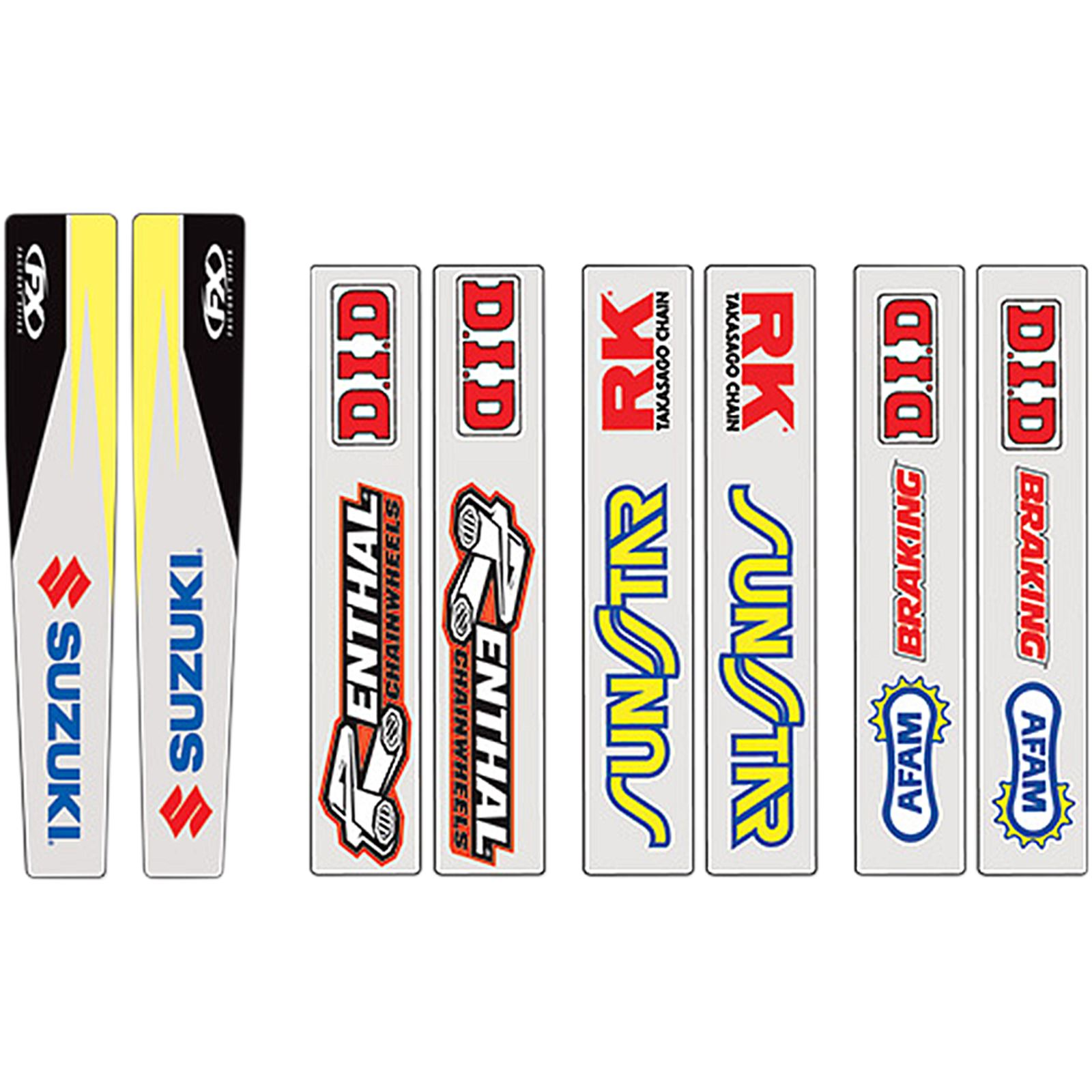 Factory Effex Swingarm Graphic - Suzuki