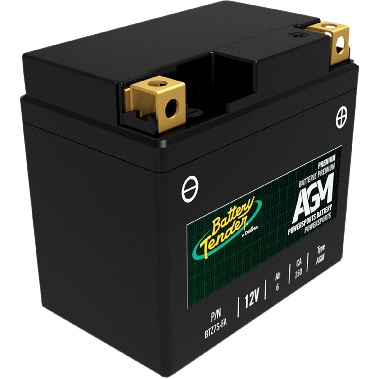 Battery Tender AGM Battery - BTZ7S-FA
