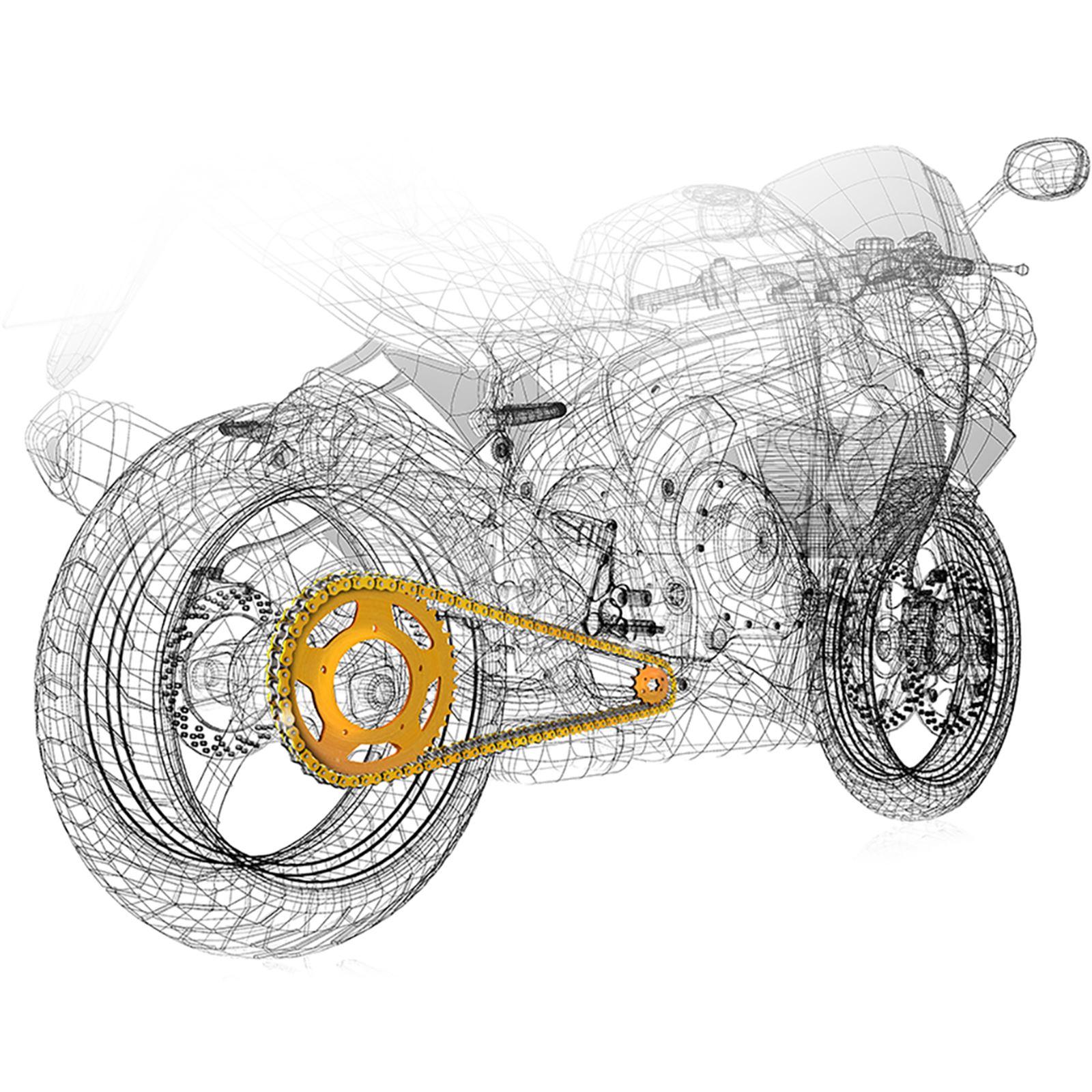 Regina Chain and Sprocket Kit - KTM RC390/Duke - '13-'16