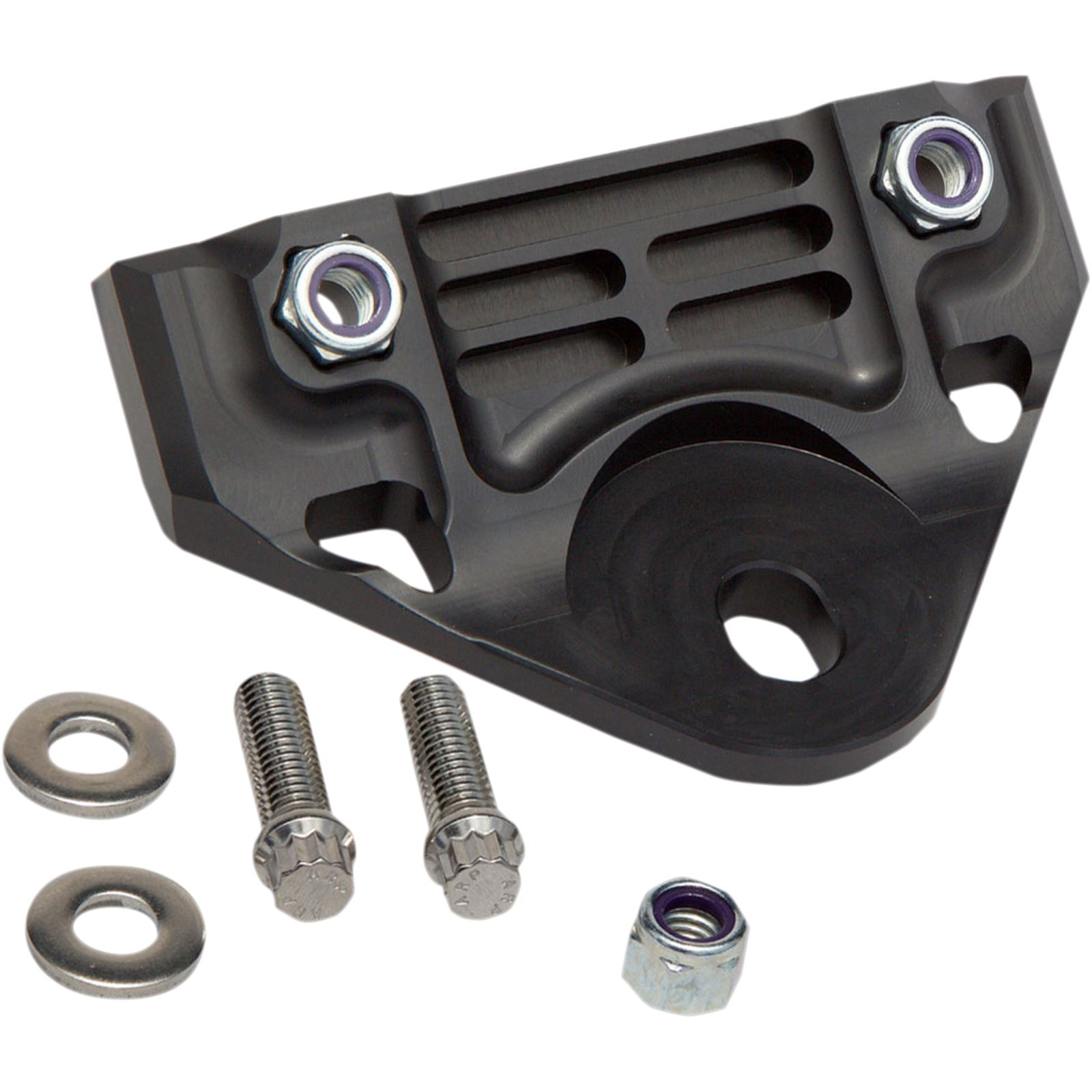 Alloy Art Front Engine Mount - Black - FXR