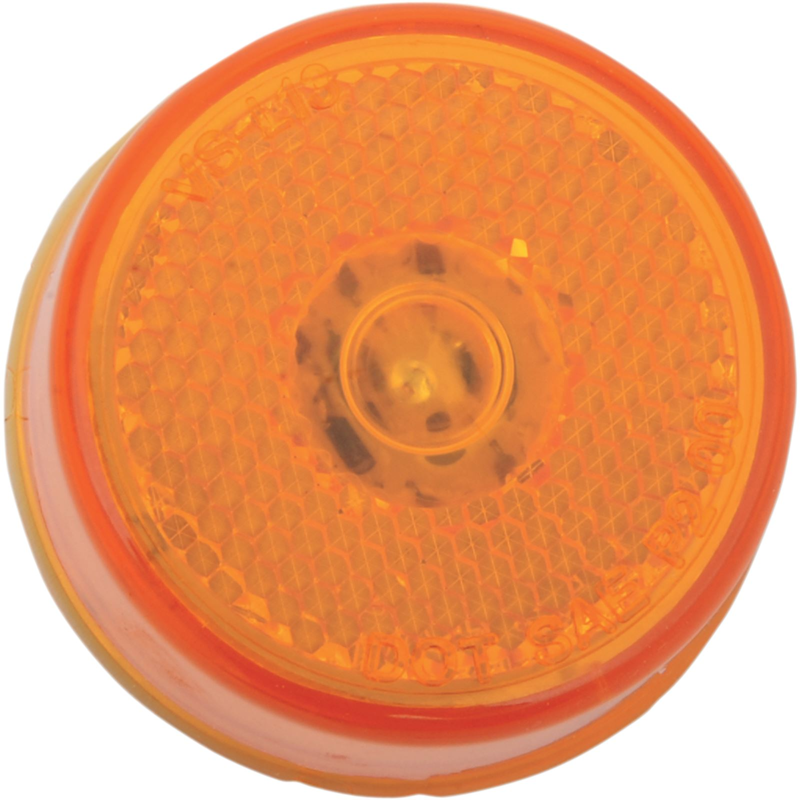 "Brite-Lites 2"" Round LED Light - Amber"