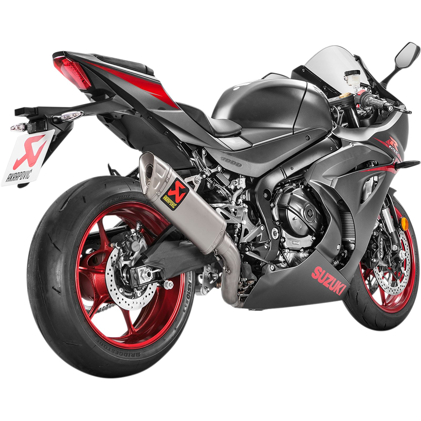 Akrapovic Race Exhaust - Stainless Steel/Titanium