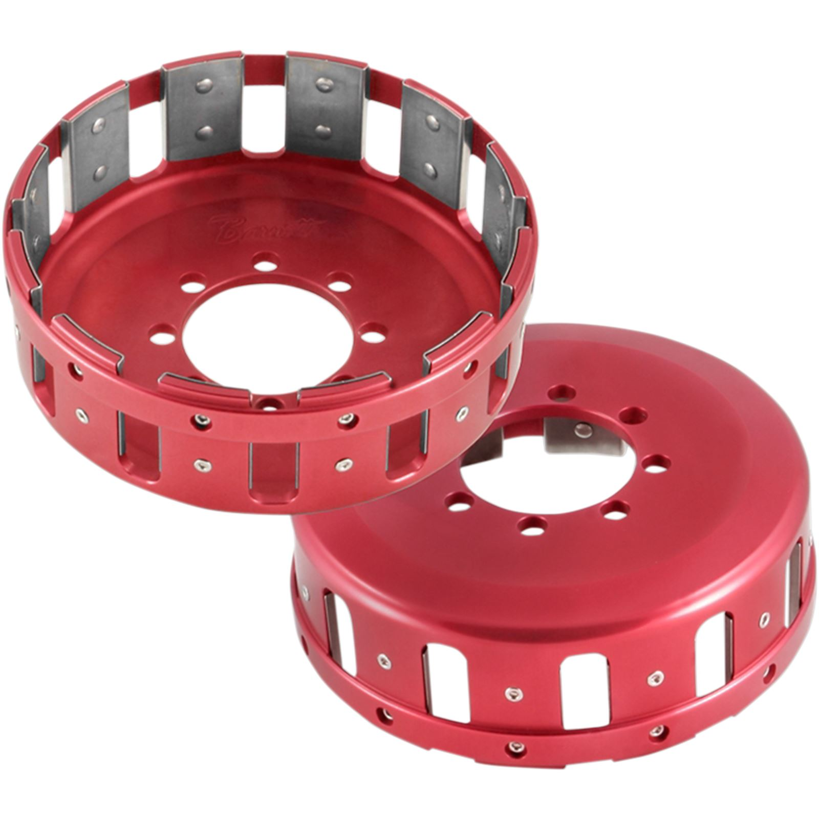 Barnett Performance Ducati Clutch Basket - Red