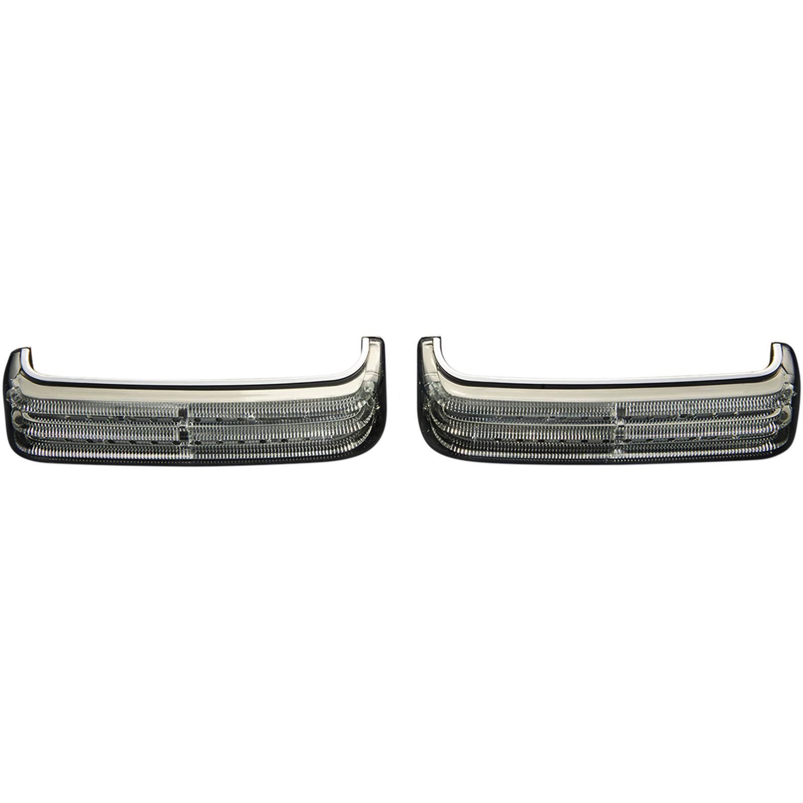 Custom Dynamics Saddlebag Lights - Chrome/Smoke